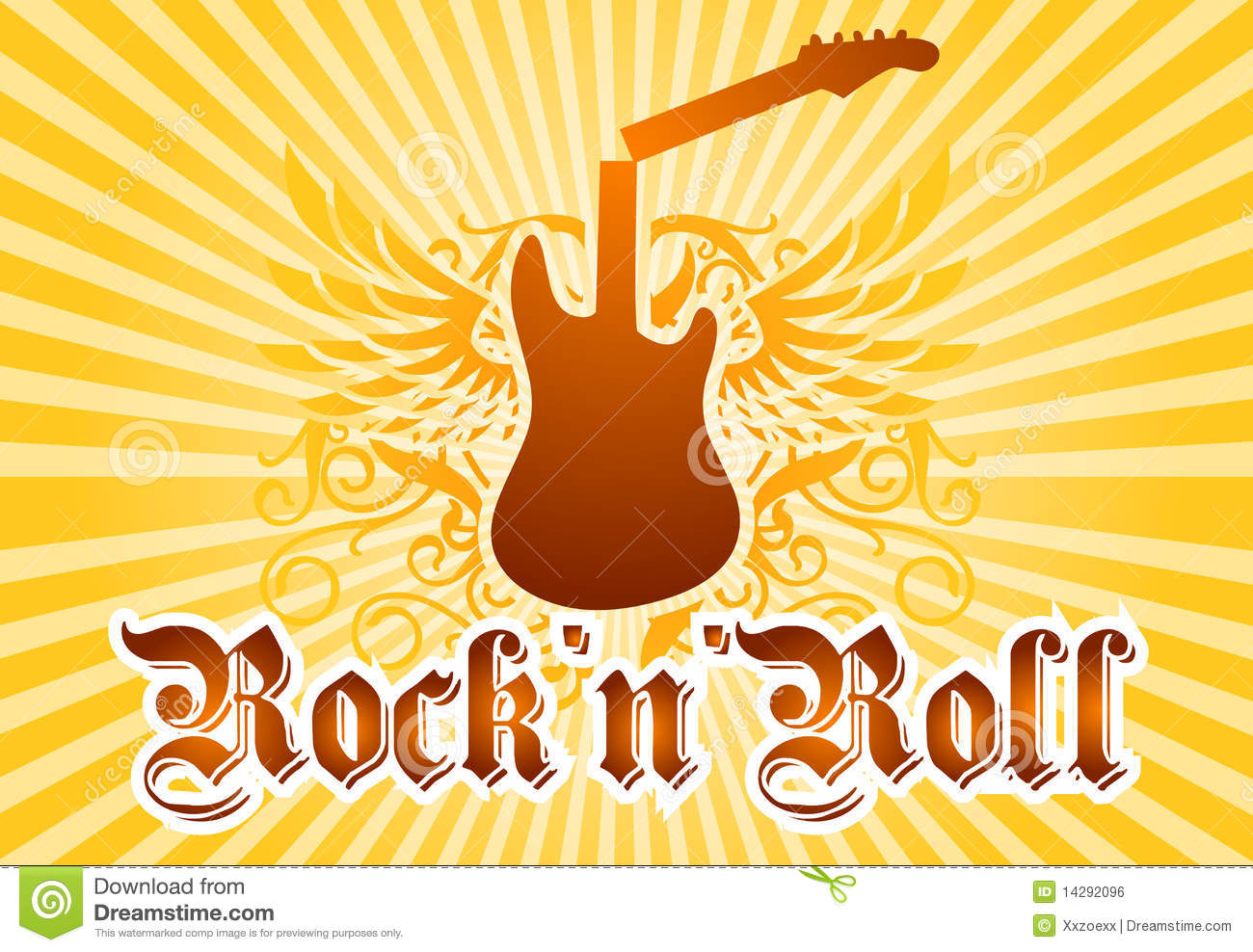 Rock And Roll Cool Background Royalty Free Stock Image - Image ...
