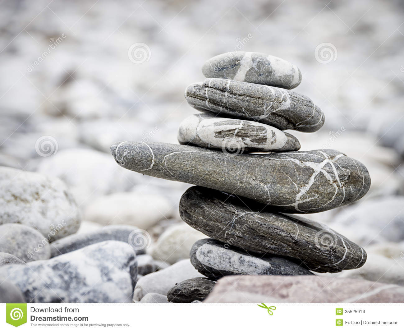 Rock Stack Stock Images - Image: 35525914