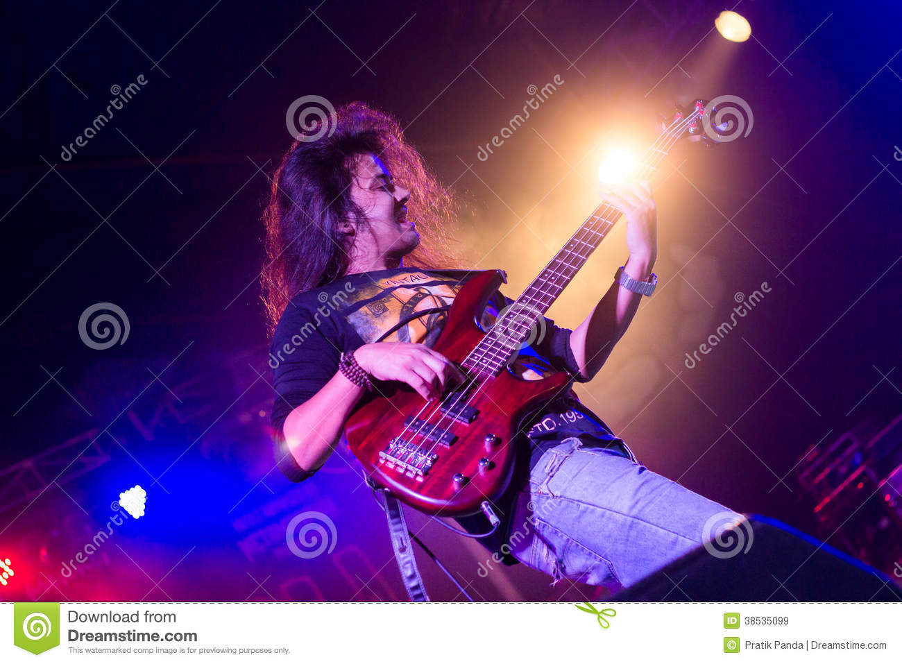 rock star live concert background editorial stock image. Black Bedroom Furniture Sets. Home Design Ideas