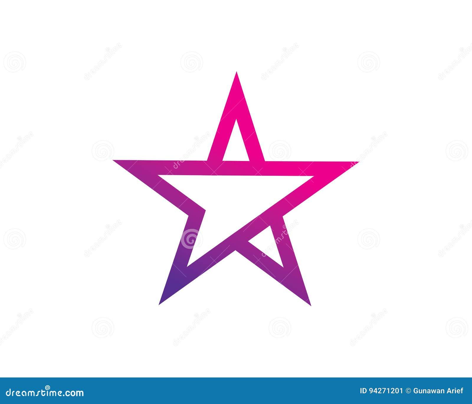 Rock Star Logo Template Design Vector Emblem Design Concept
