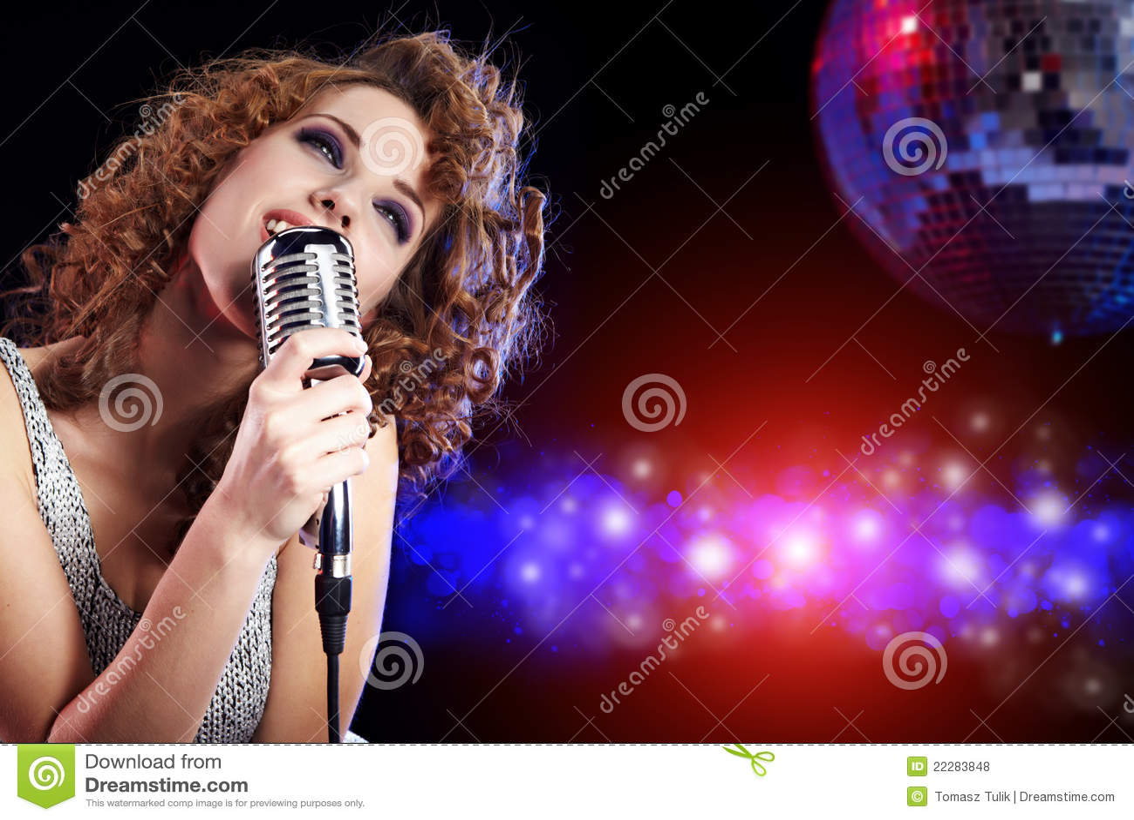 singing the girl retro - photo #27
