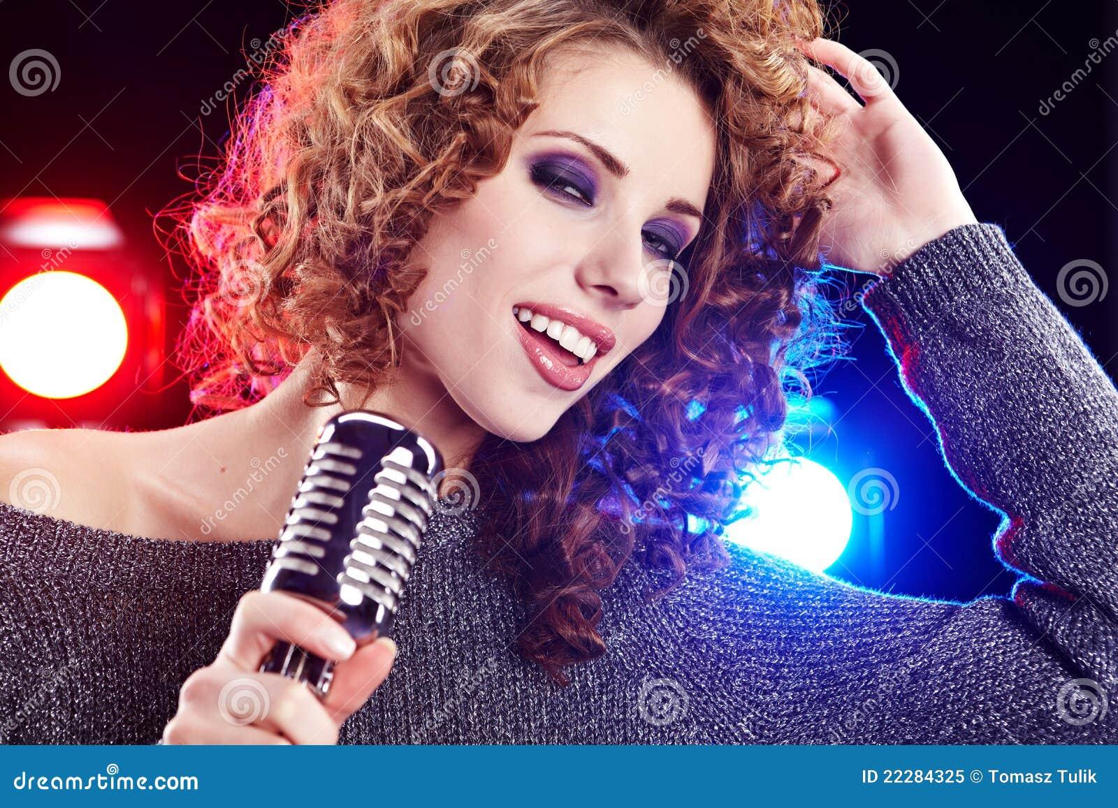 singing the girl retro - photo #47
