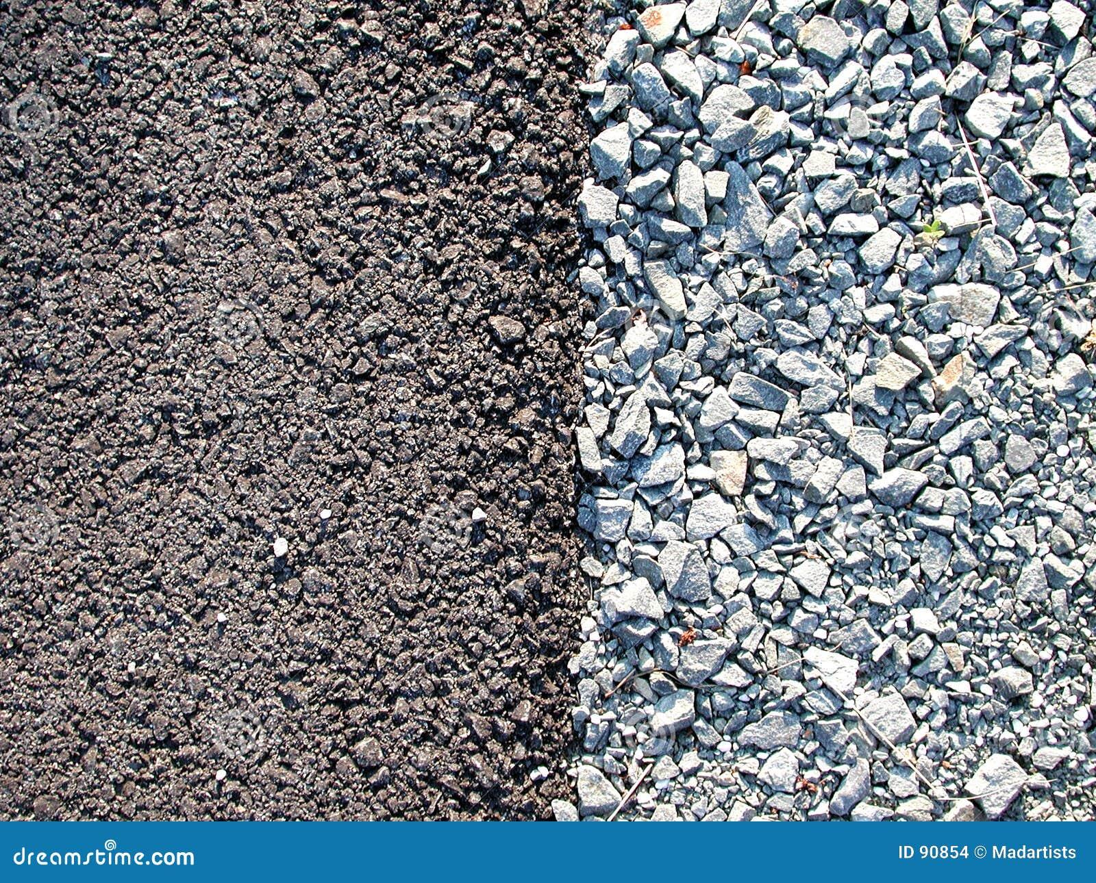 Rock tekstury żwiru cementowy