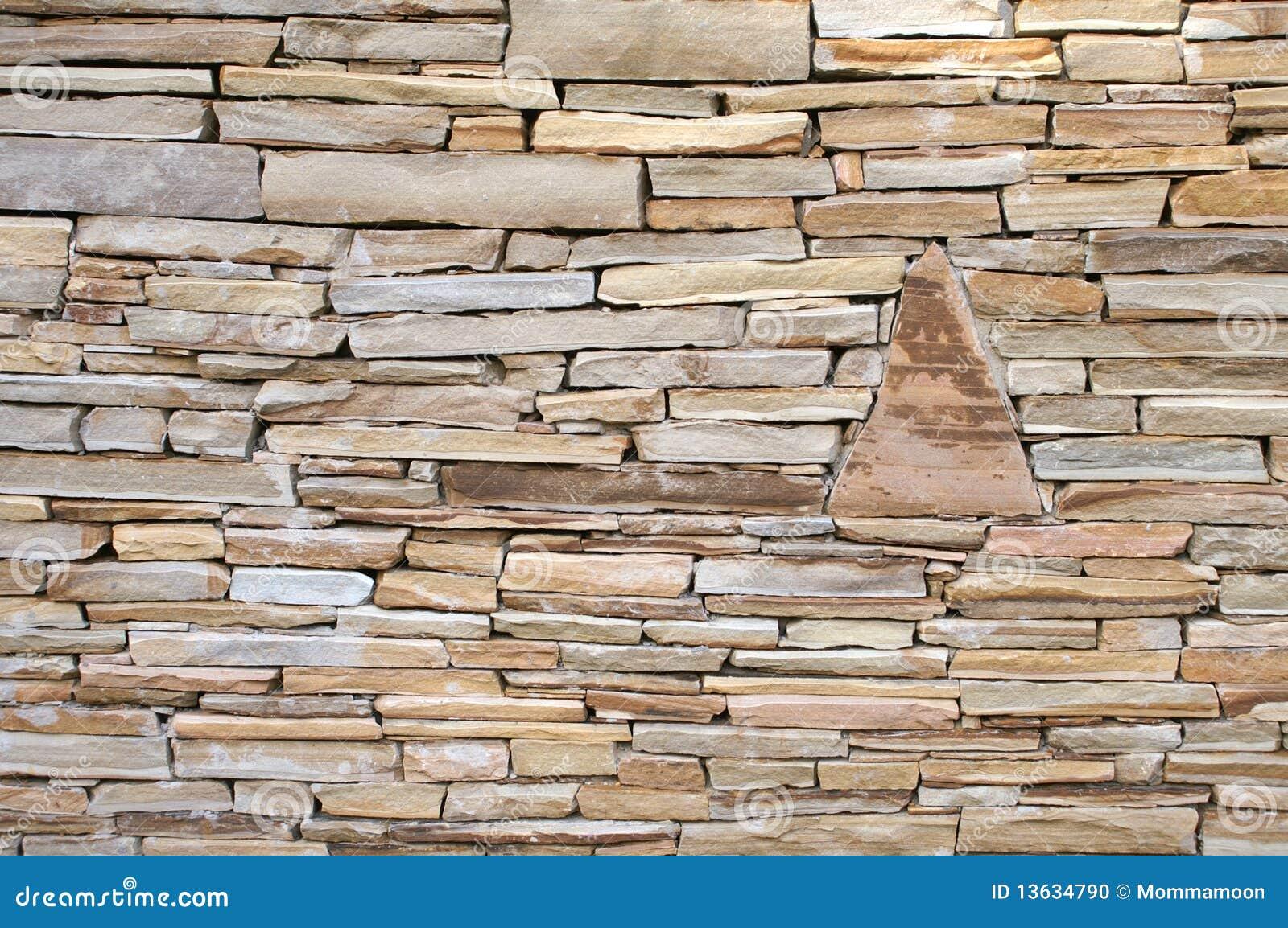 Flat Rock Stone : Rock wall stock photo image of close rough stone