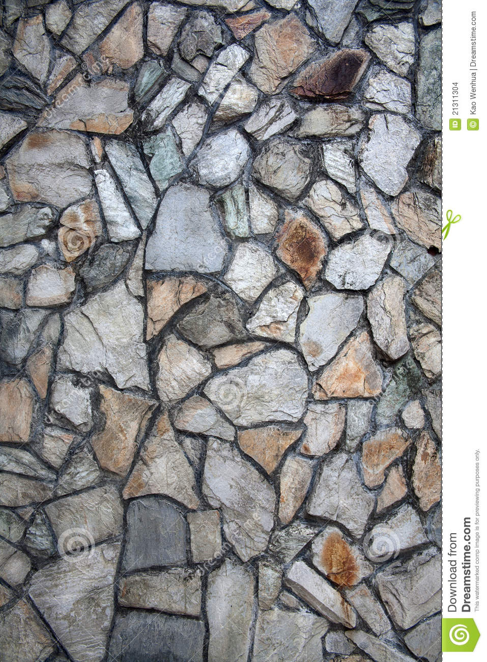 Rock wall graphic stock photo image of brown cobblestone for Dessin mur