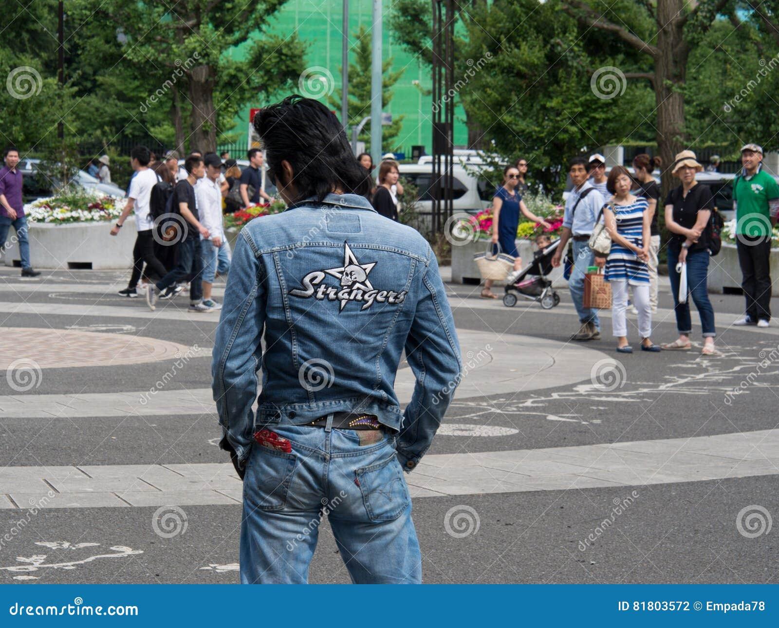 Rockabilly совершители в парке 4 Yoyogi