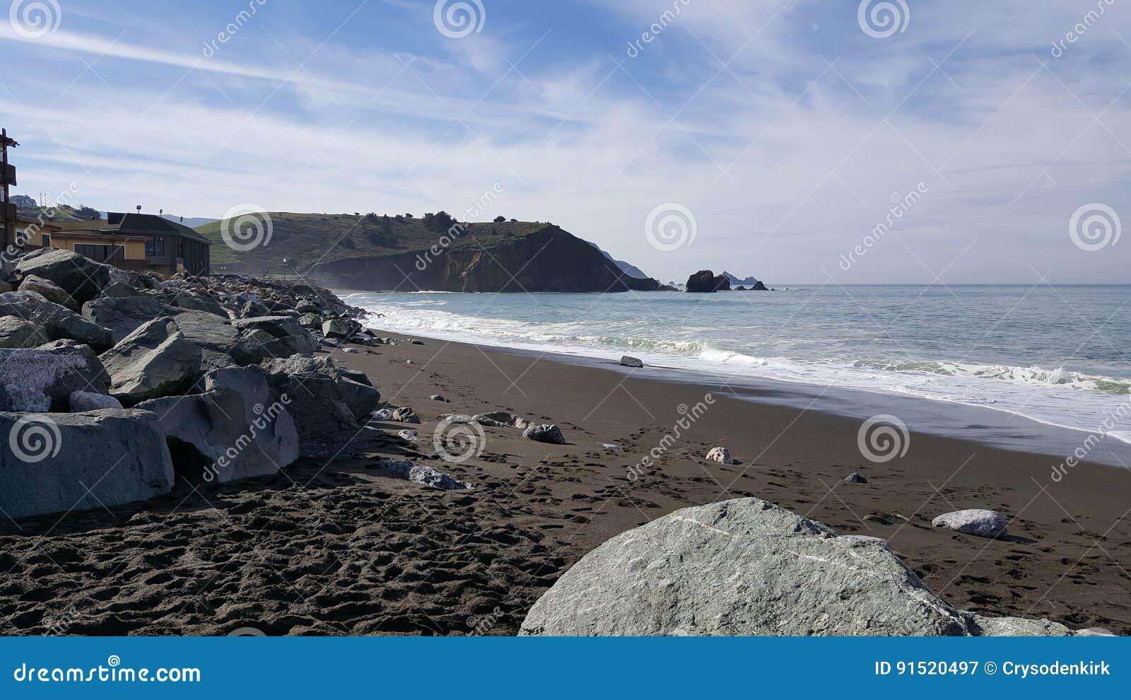 Rockaway海滩, Pacifica,加利福尼亚