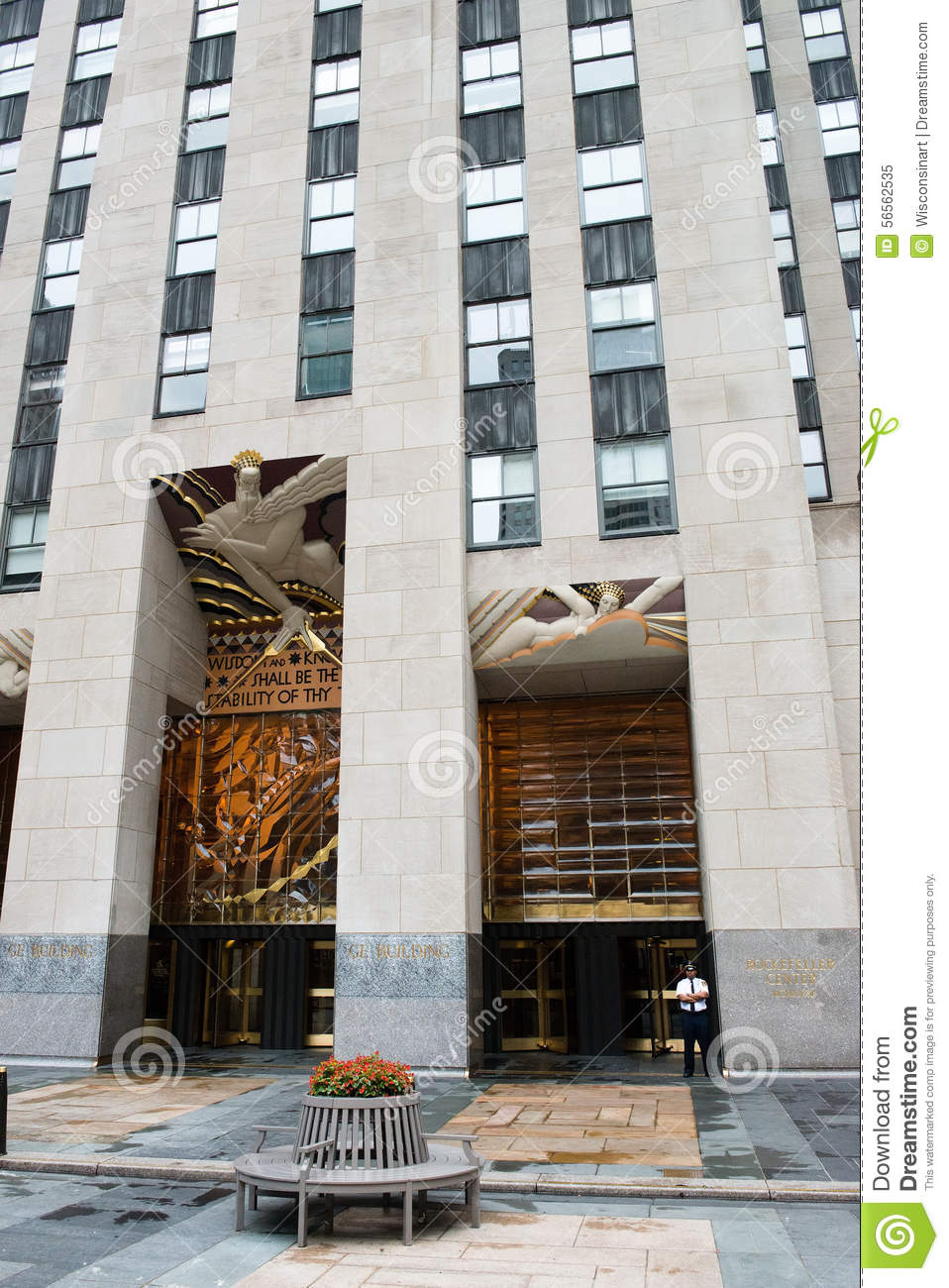 Rockefeller center new york city editorial image - Tourist office new york city ...