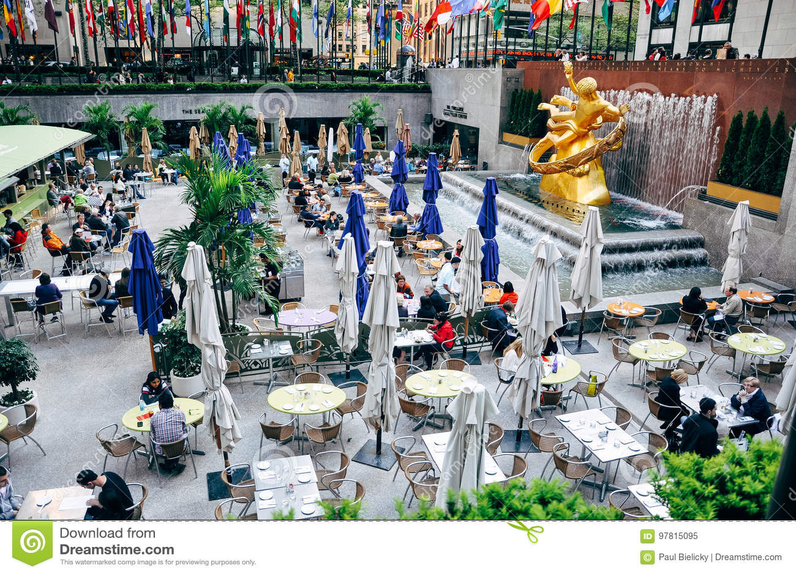 Rockefeller Center in New York City.
