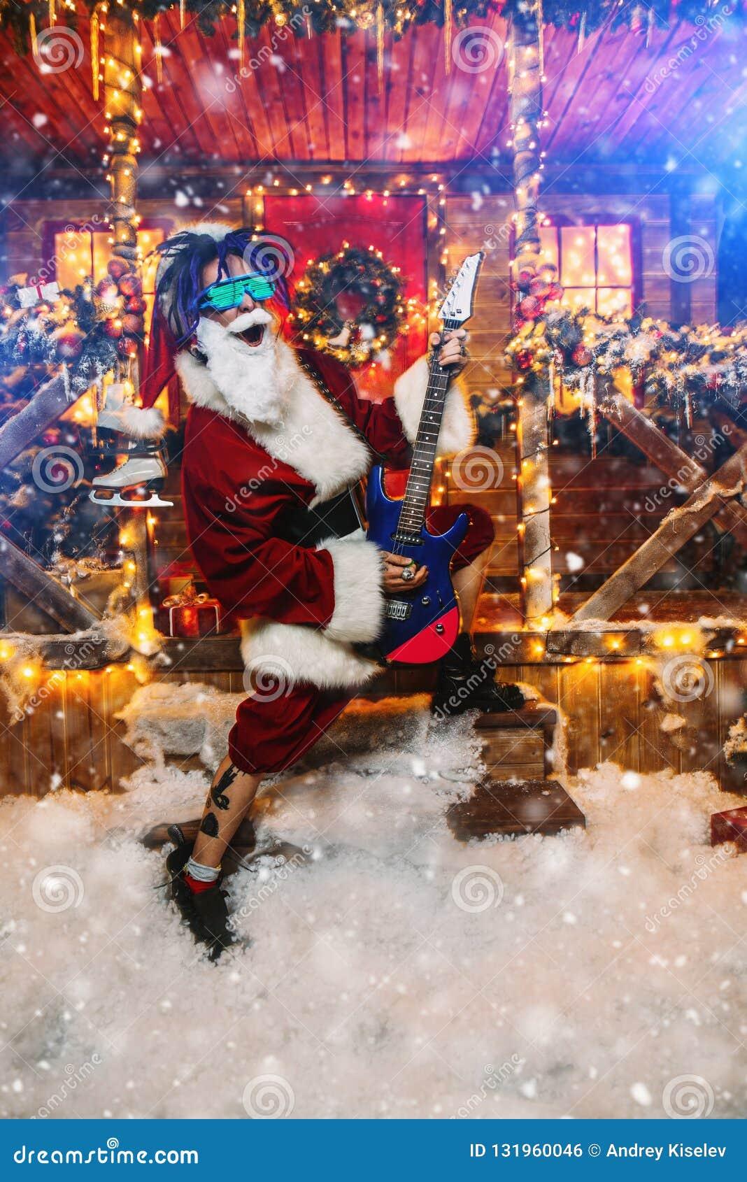 Rocker Weihnachtsmann