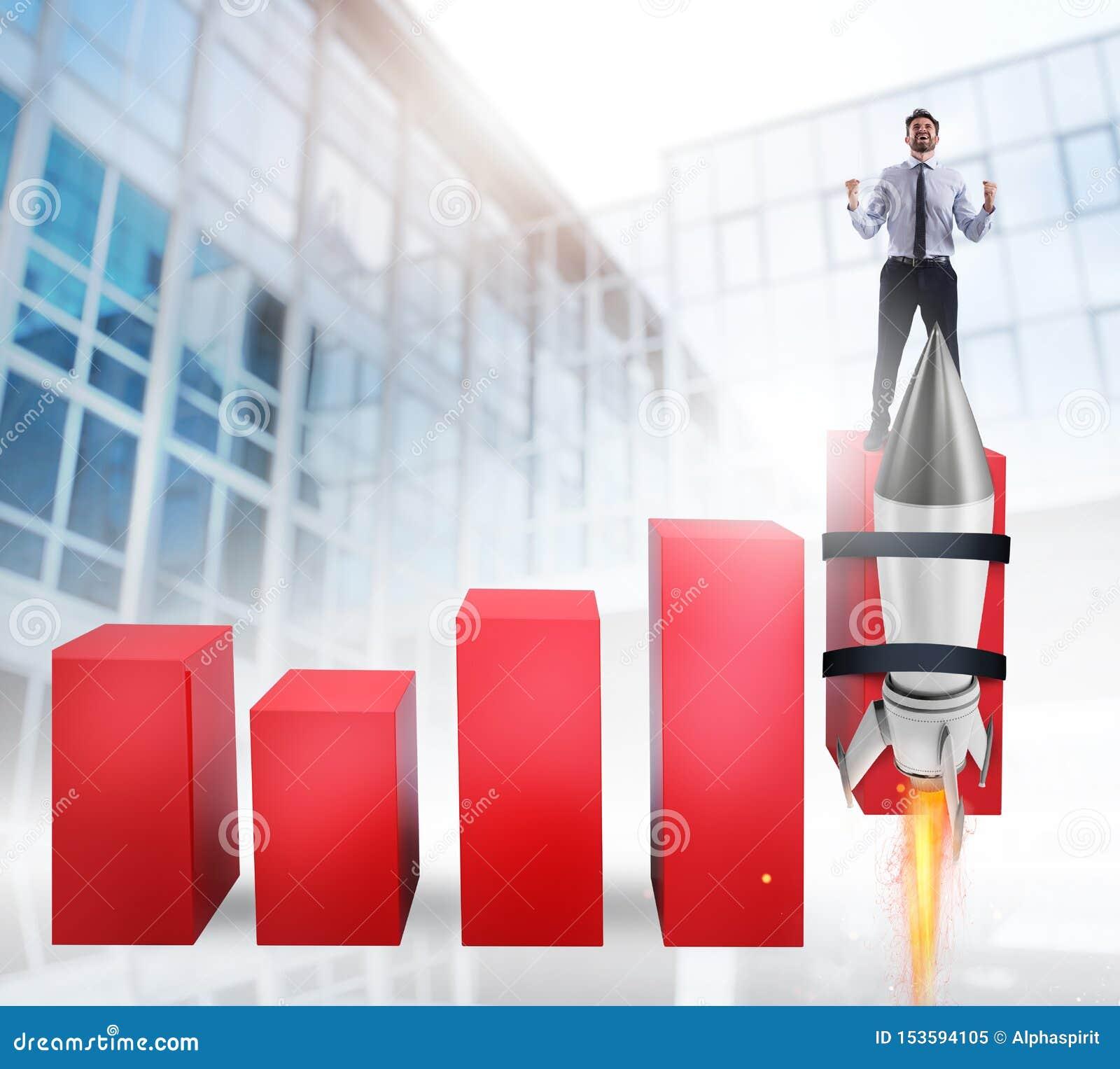 Rocket ayuda a mejorar estadística de negocio para crecer
