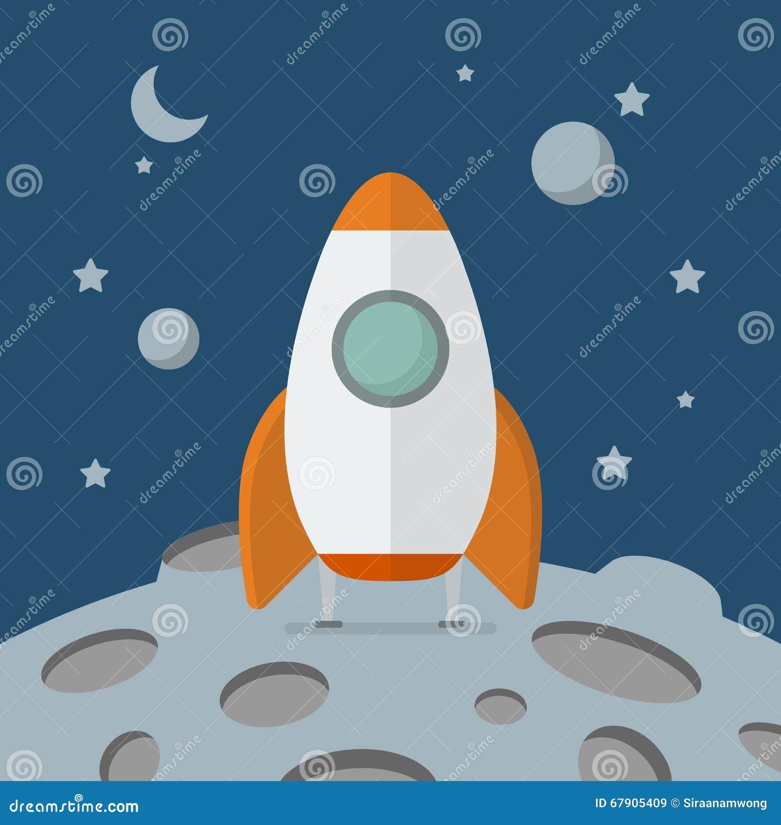 rocket landing on moon - photo #33
