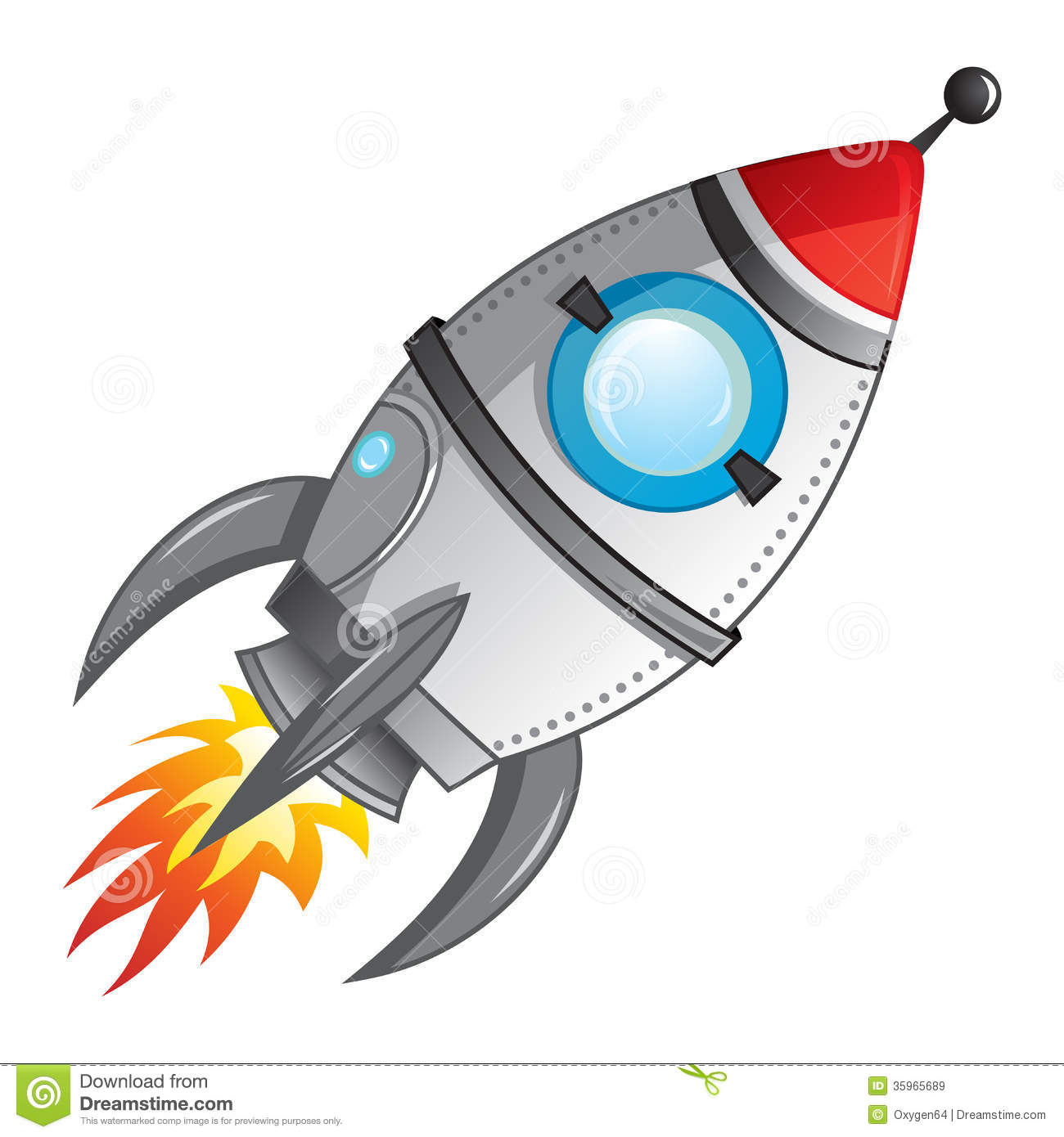 Rocket Launch Royalty Free Stock Images Image 35965689