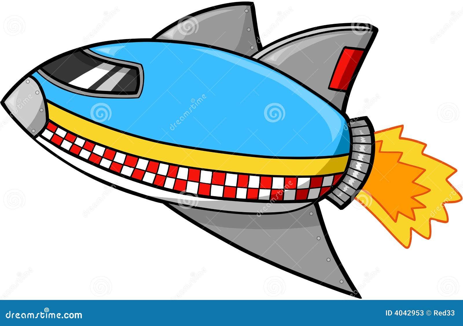 Rocket Ship Vector Stock Photos - Image: 4042953