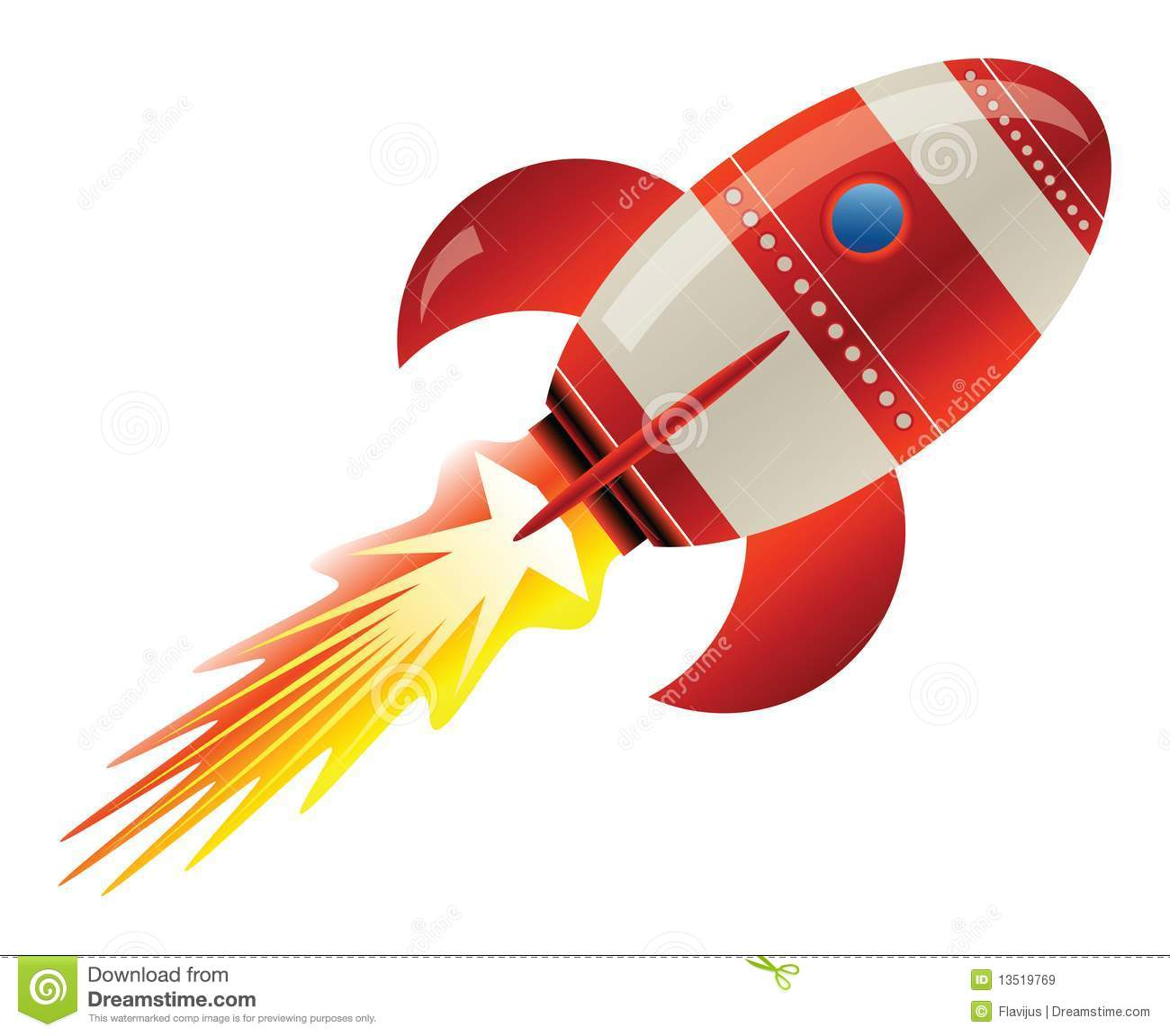 rocket in space royalty free stock images image 13519769 Astronaut Girl Clip Art Astronaut Graphic