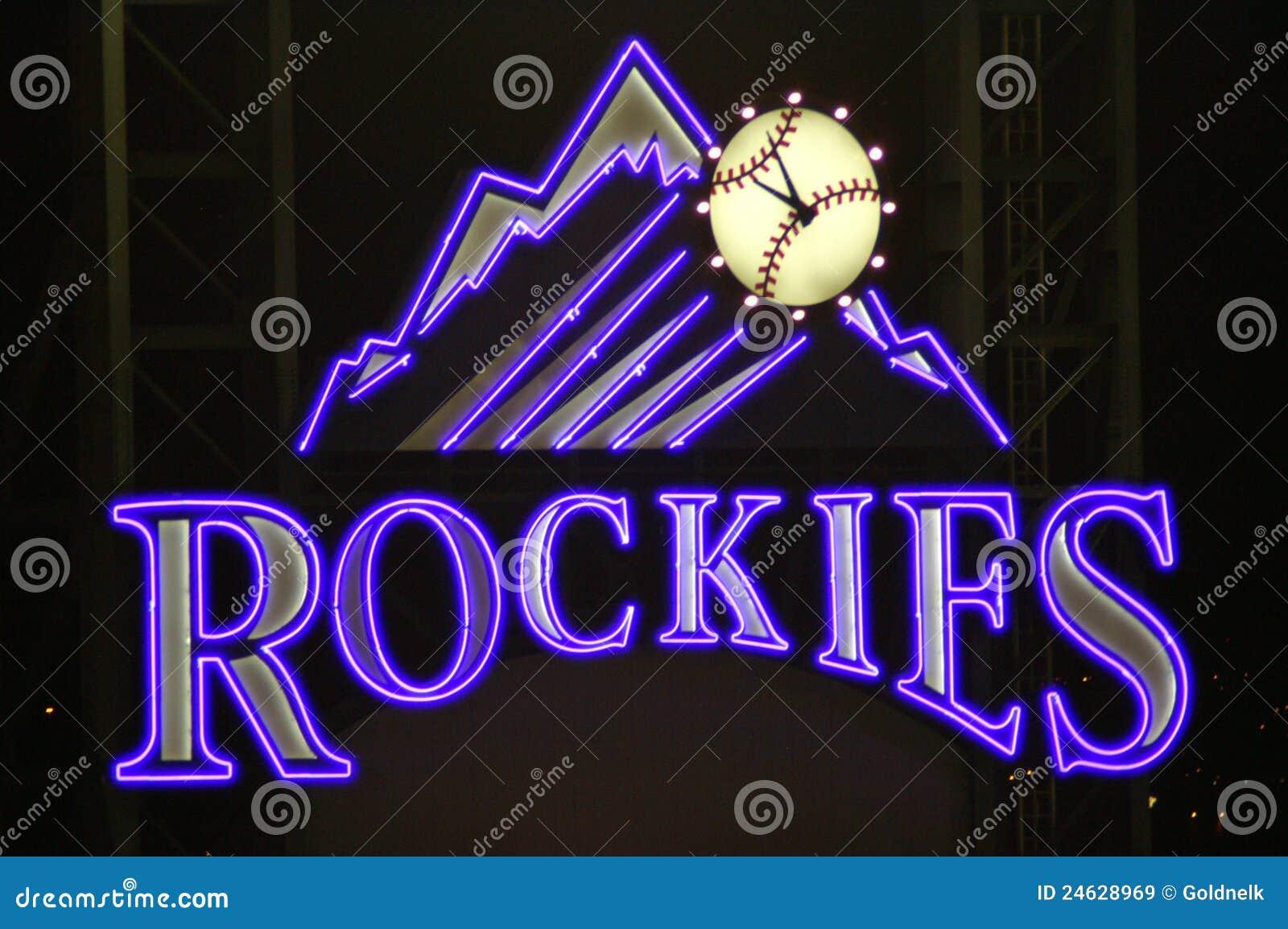 Rockies sign