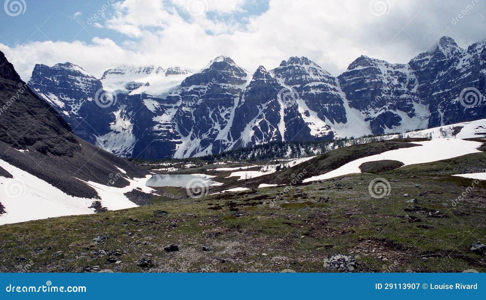 Rockies w lecie