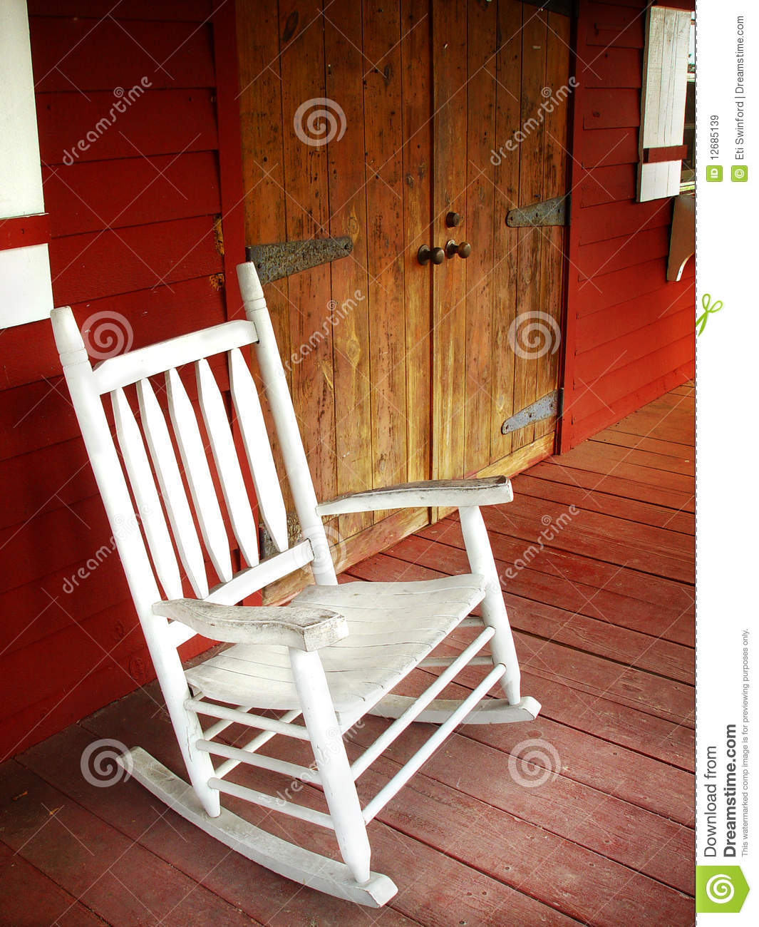 Excellent Rocking Chair Stock Image Image Of Beckoning Planks 12685139 Onthecornerstone Fun Painted Chair Ideas Images Onthecornerstoneorg