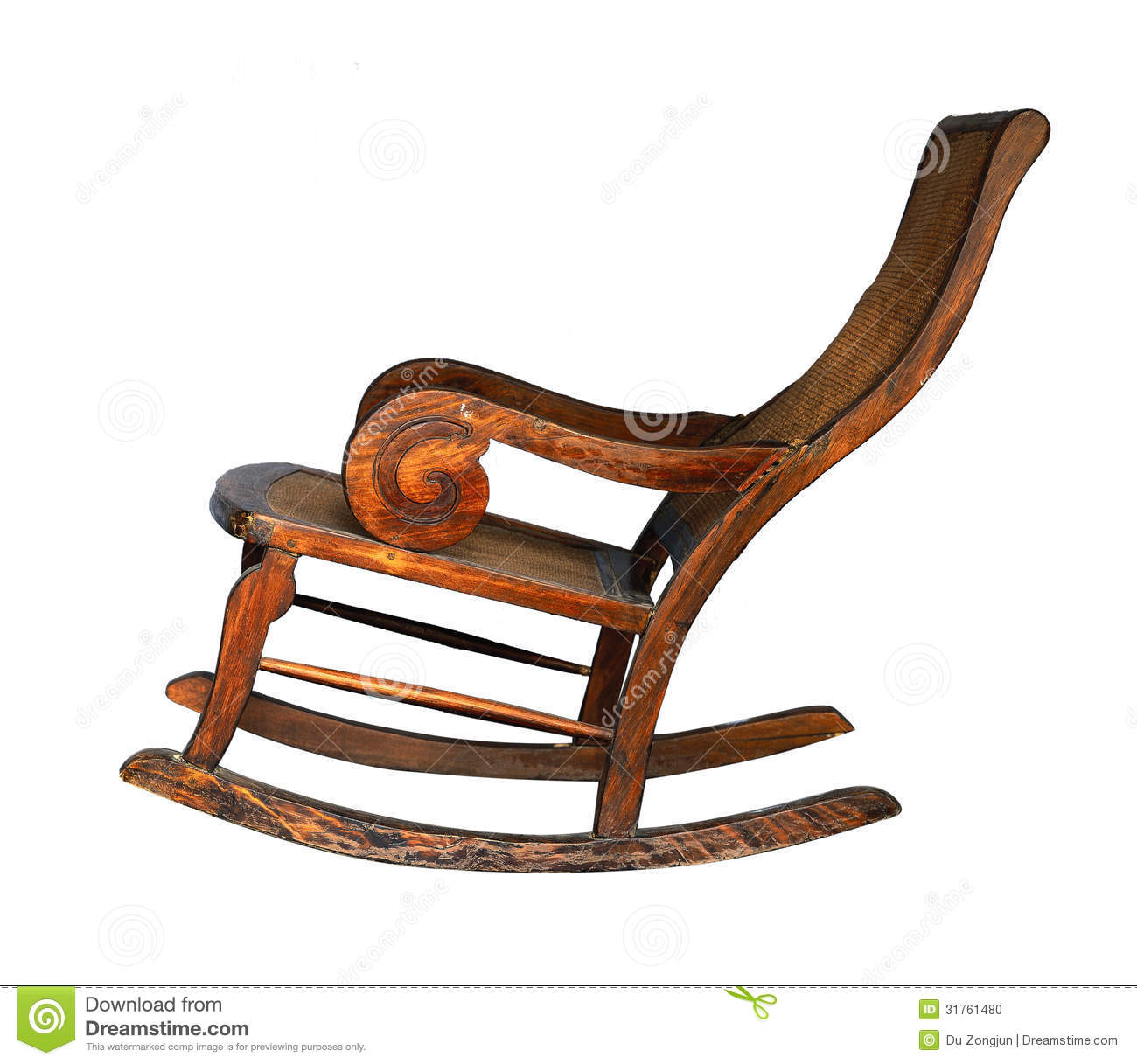 The Rocking Chair Made From Rosewood.. Full resolution  img, nominally Width 1300 Height 1217 pixels, img with #B14A1A.