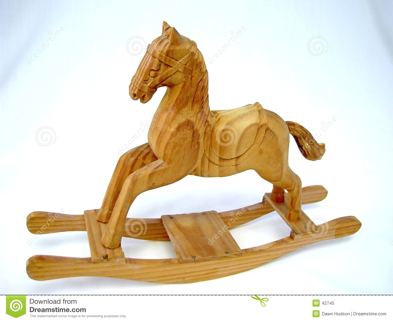 Rocking horse royalty free stock photo image