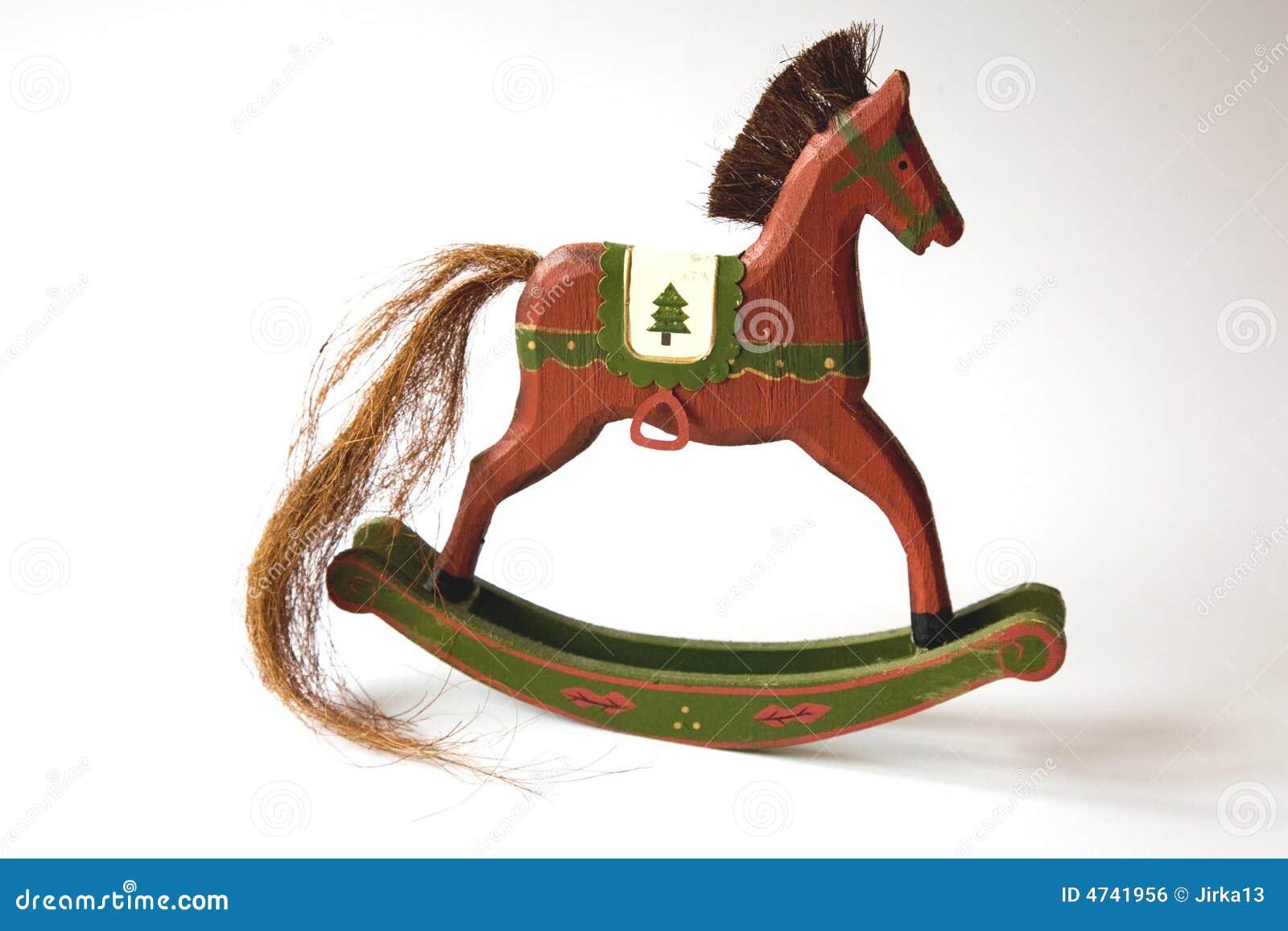 Rocking Horse Stock Photo Image Of Childish Decoration 4741956
