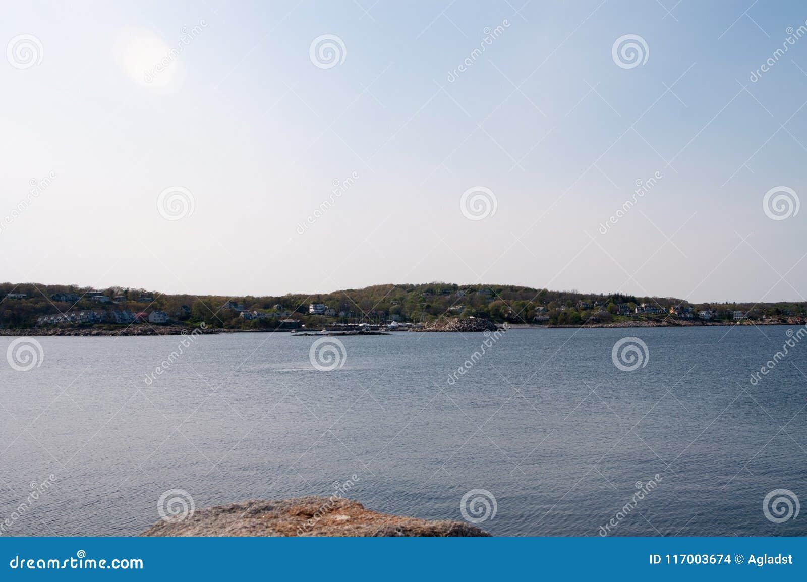 Rockport, Massachusetts linia brzegowa w lecie