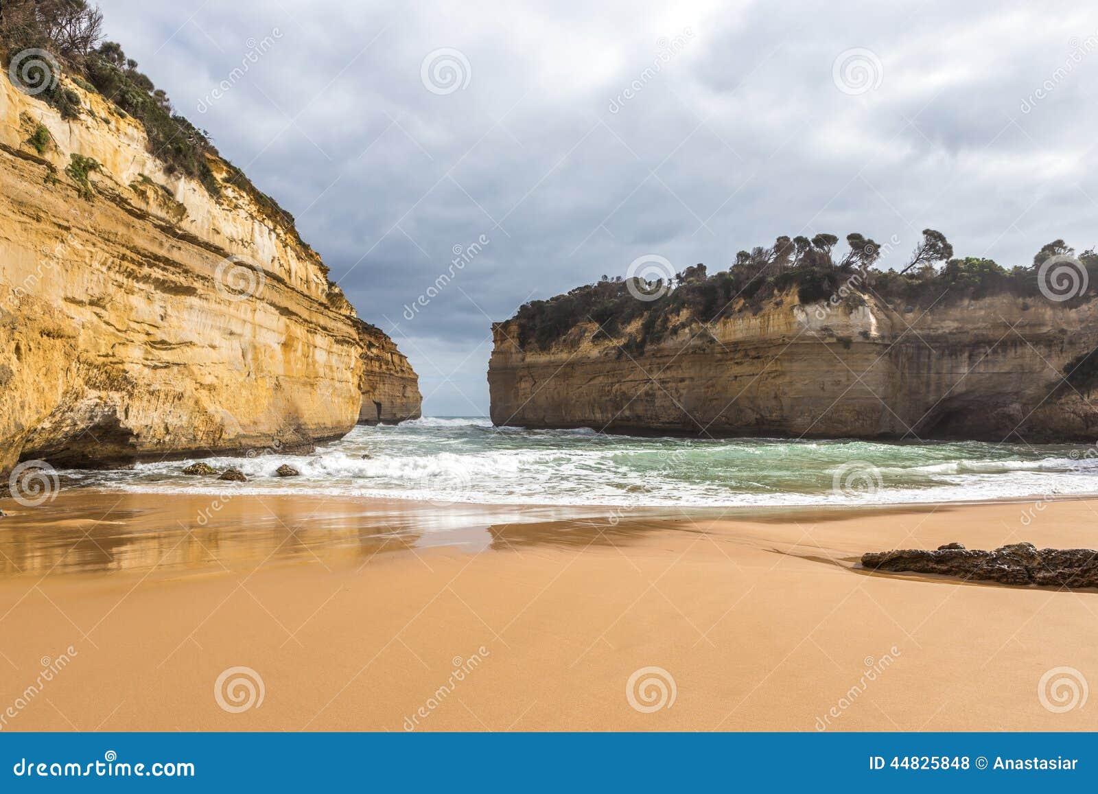 Rocks Around The Beach Stock Photo - Image: 44825848