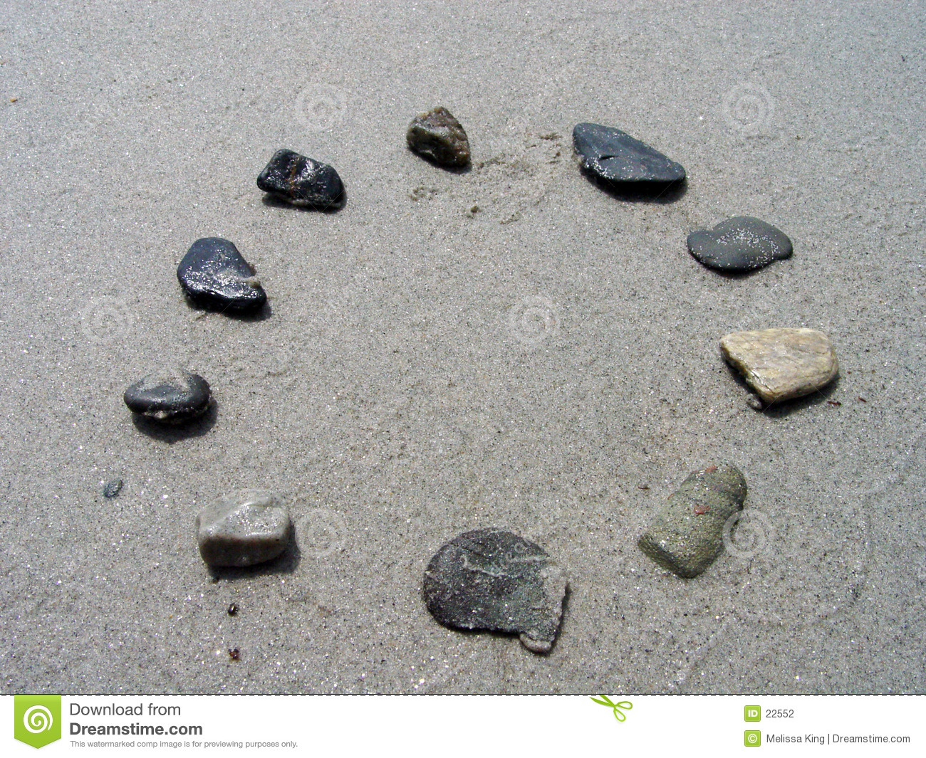 Rocks in a Circle