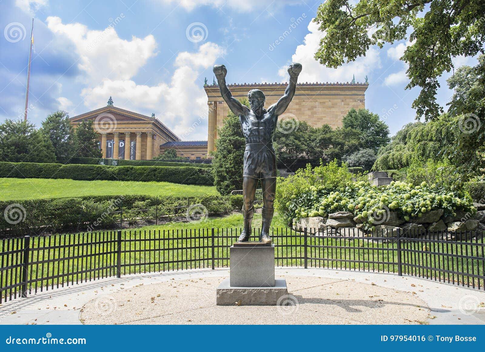 Rocky Balboa, Sylvester Stallone Statue