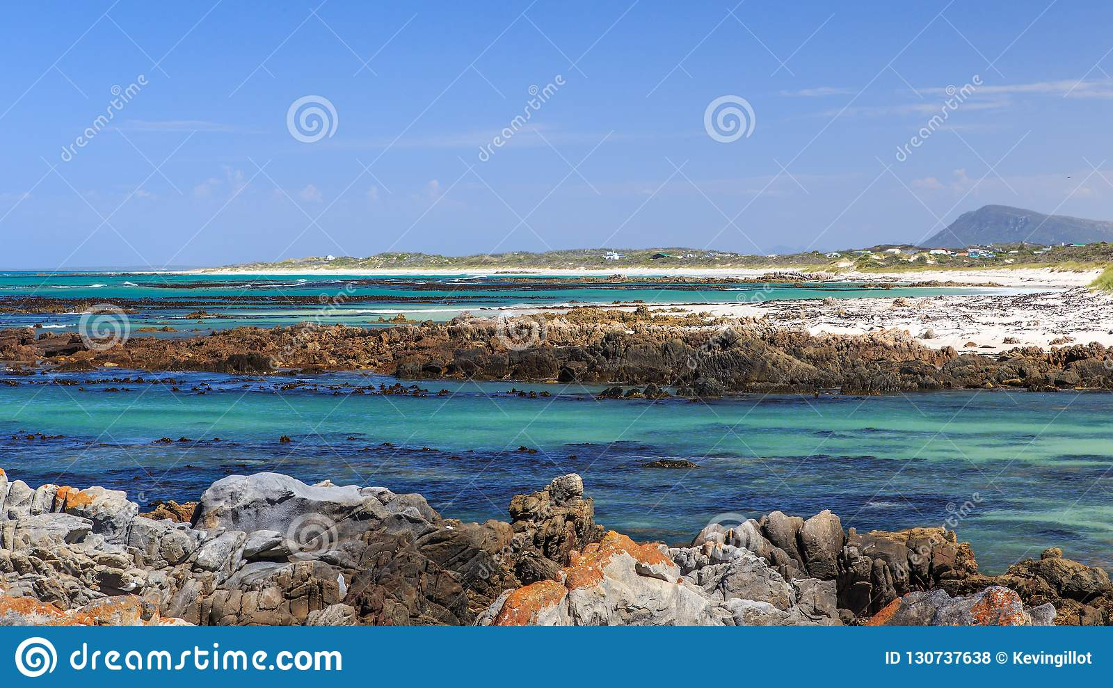 A rocky beach - Pearly beach - South Africa