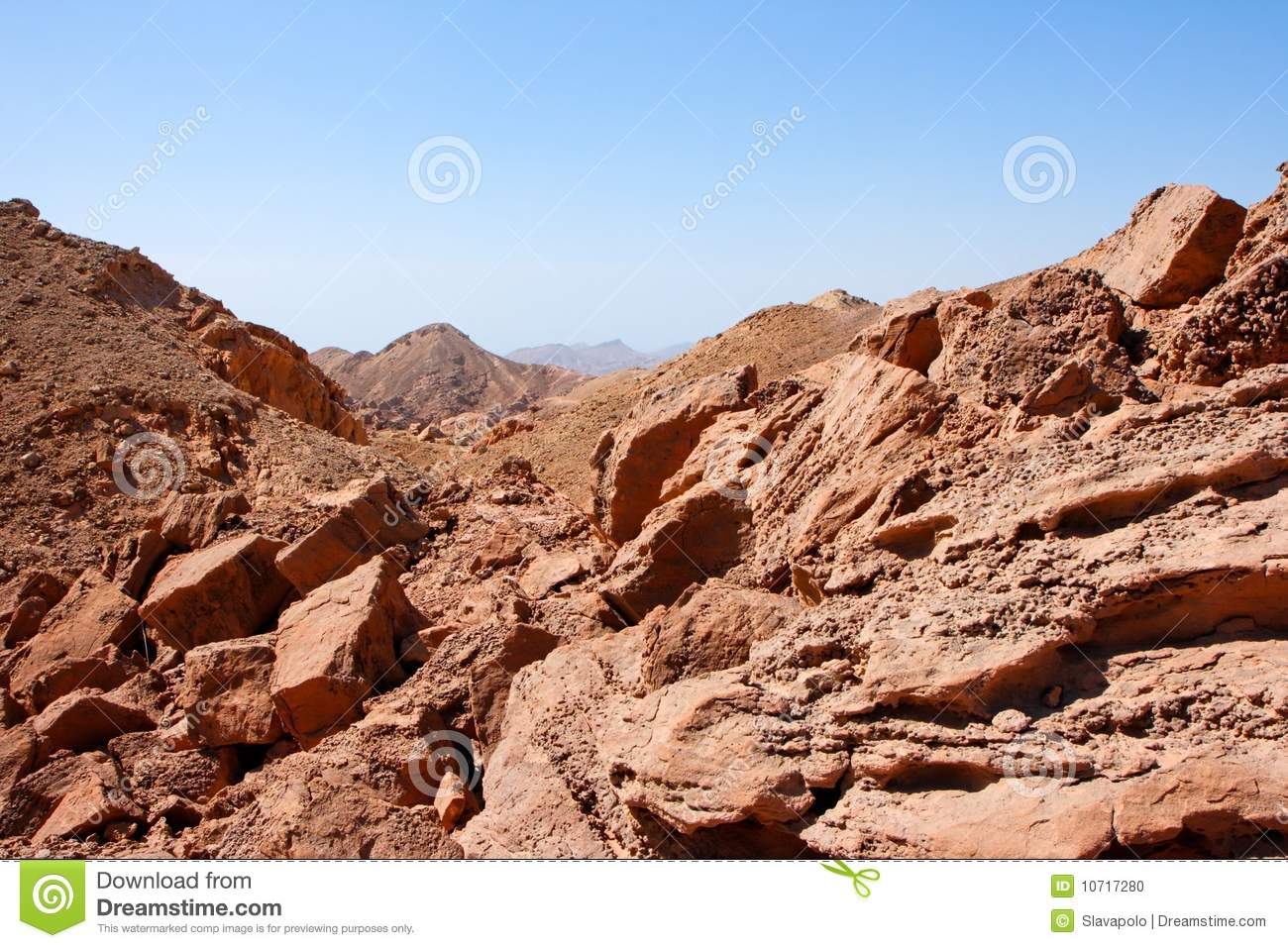 Rocky desert landscape near eilat in israel stock photo for Nearby landscapers