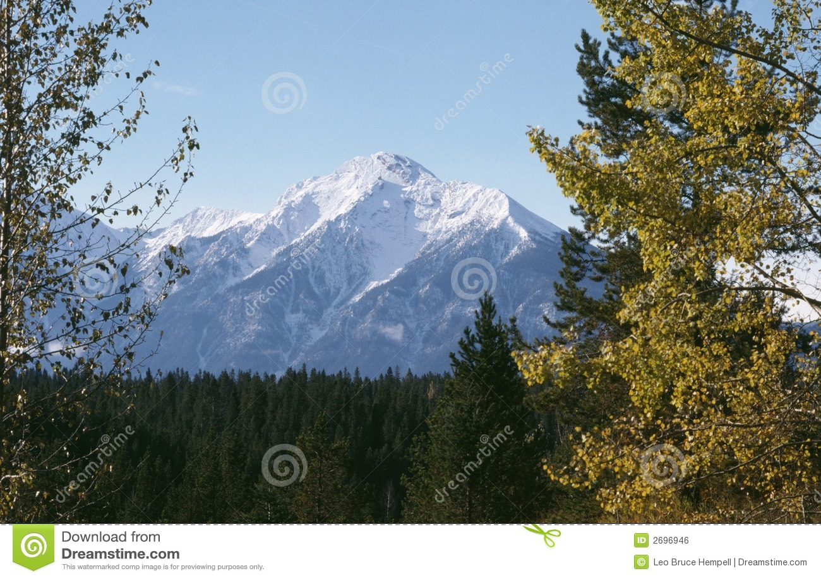 Rocky Mountain Autumn British Columbia Canada