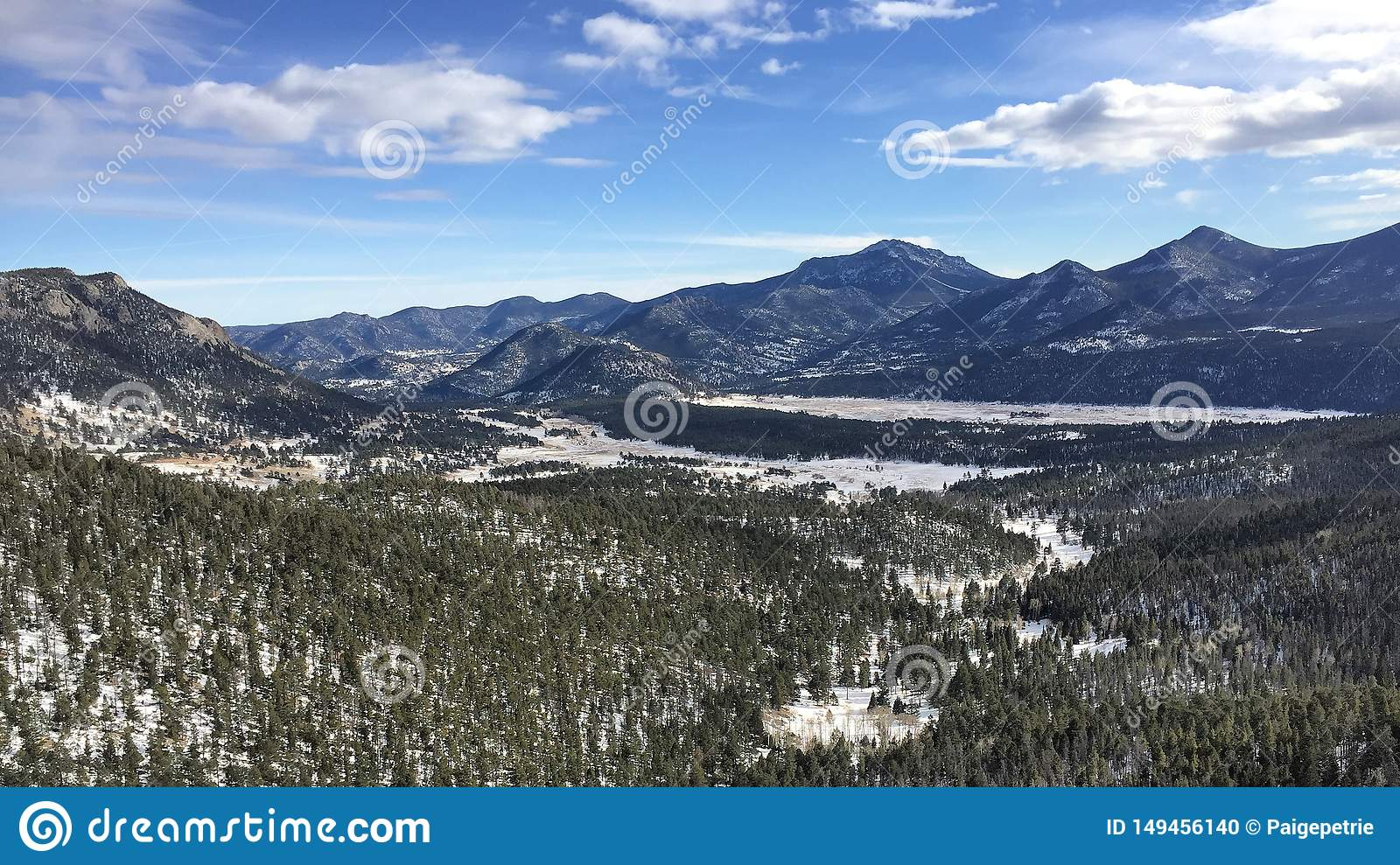 Rocky Mountain National Park View
