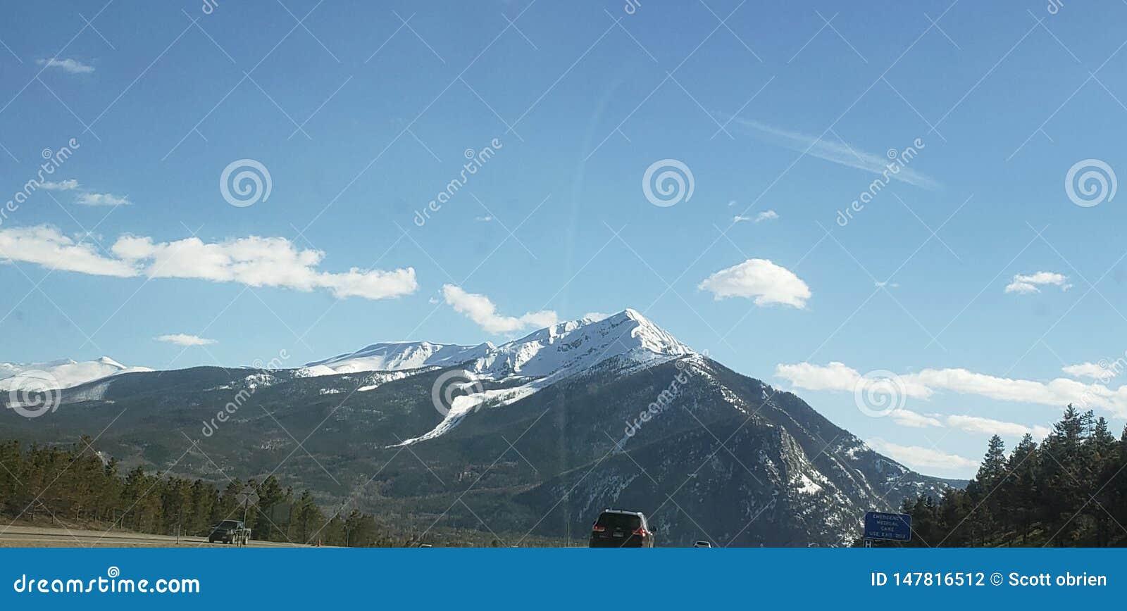 Rocky Mountains-Hoch oben