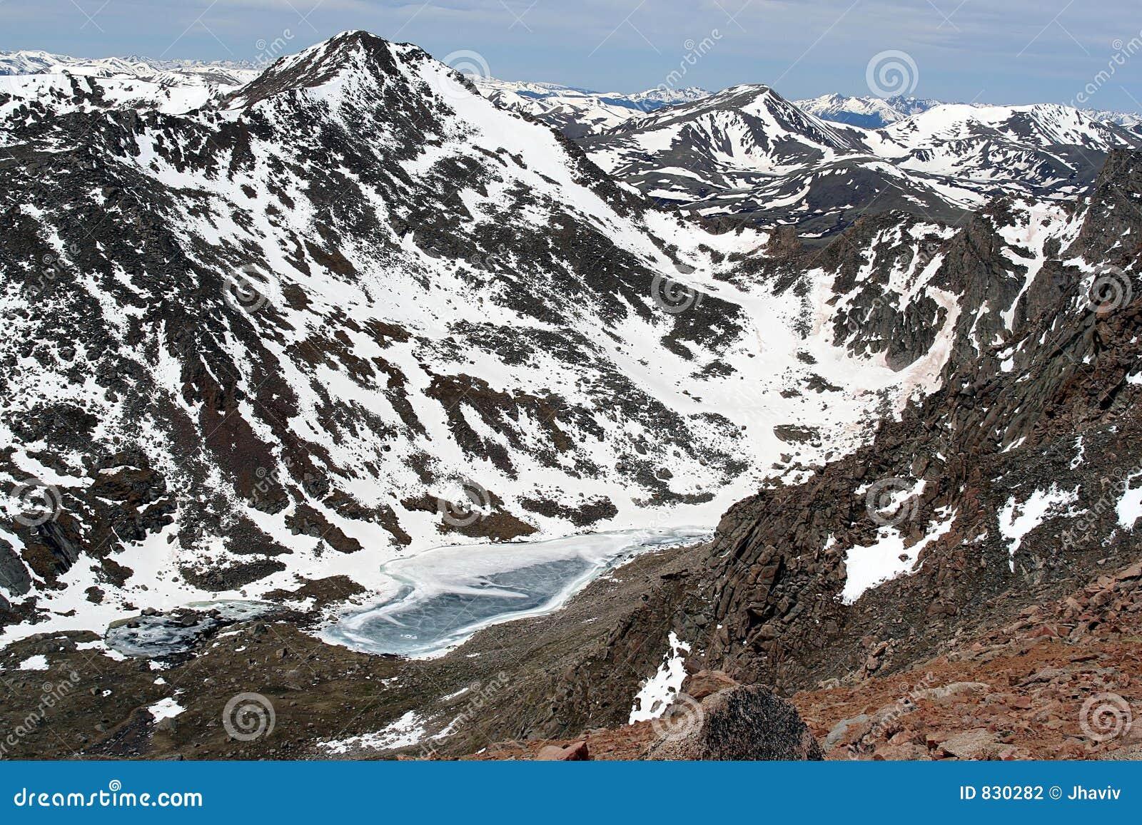 Rocky Mountains Lake View