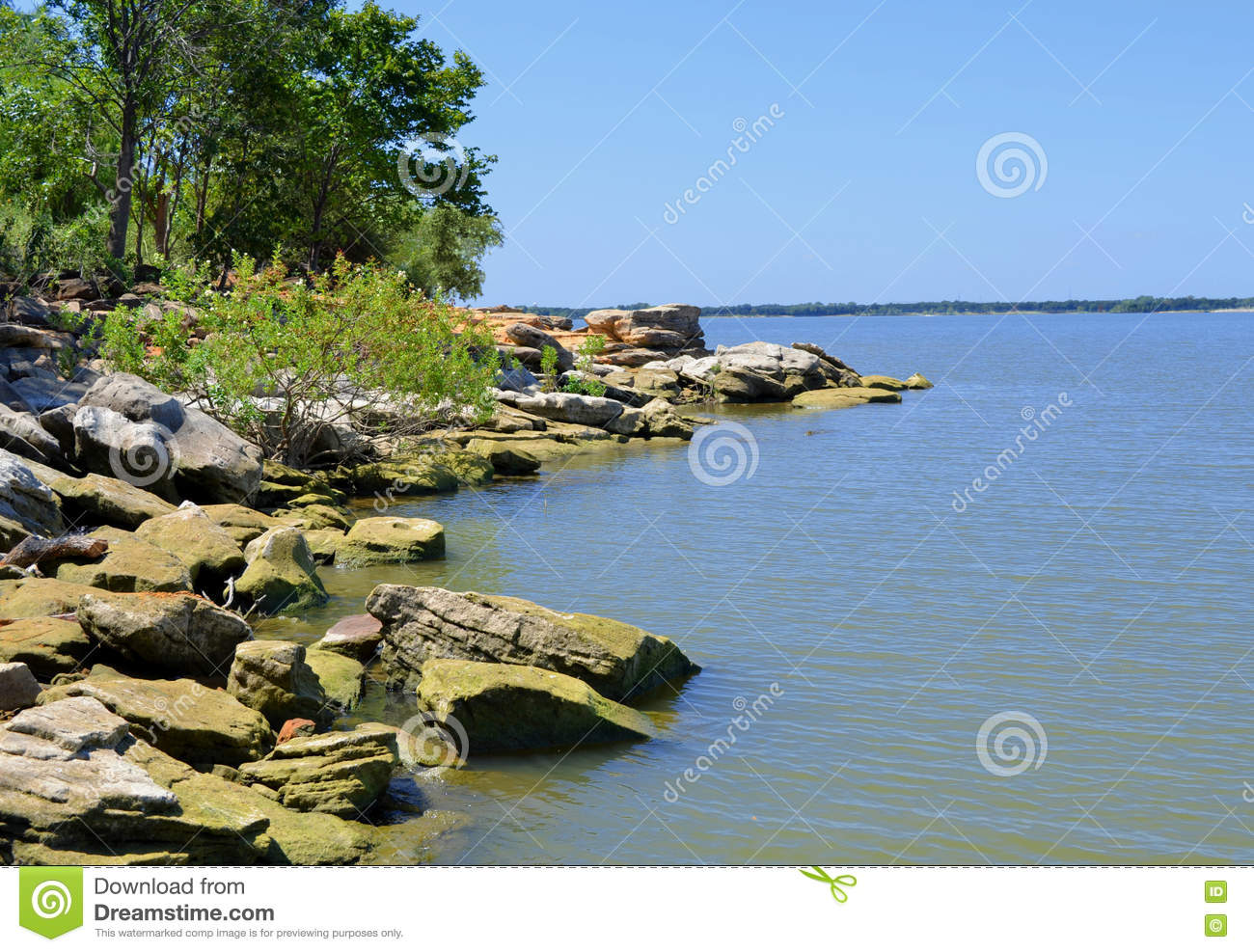 Freshwater fish lewisville tx - A Rocky Point On Lake Lewisville Texas