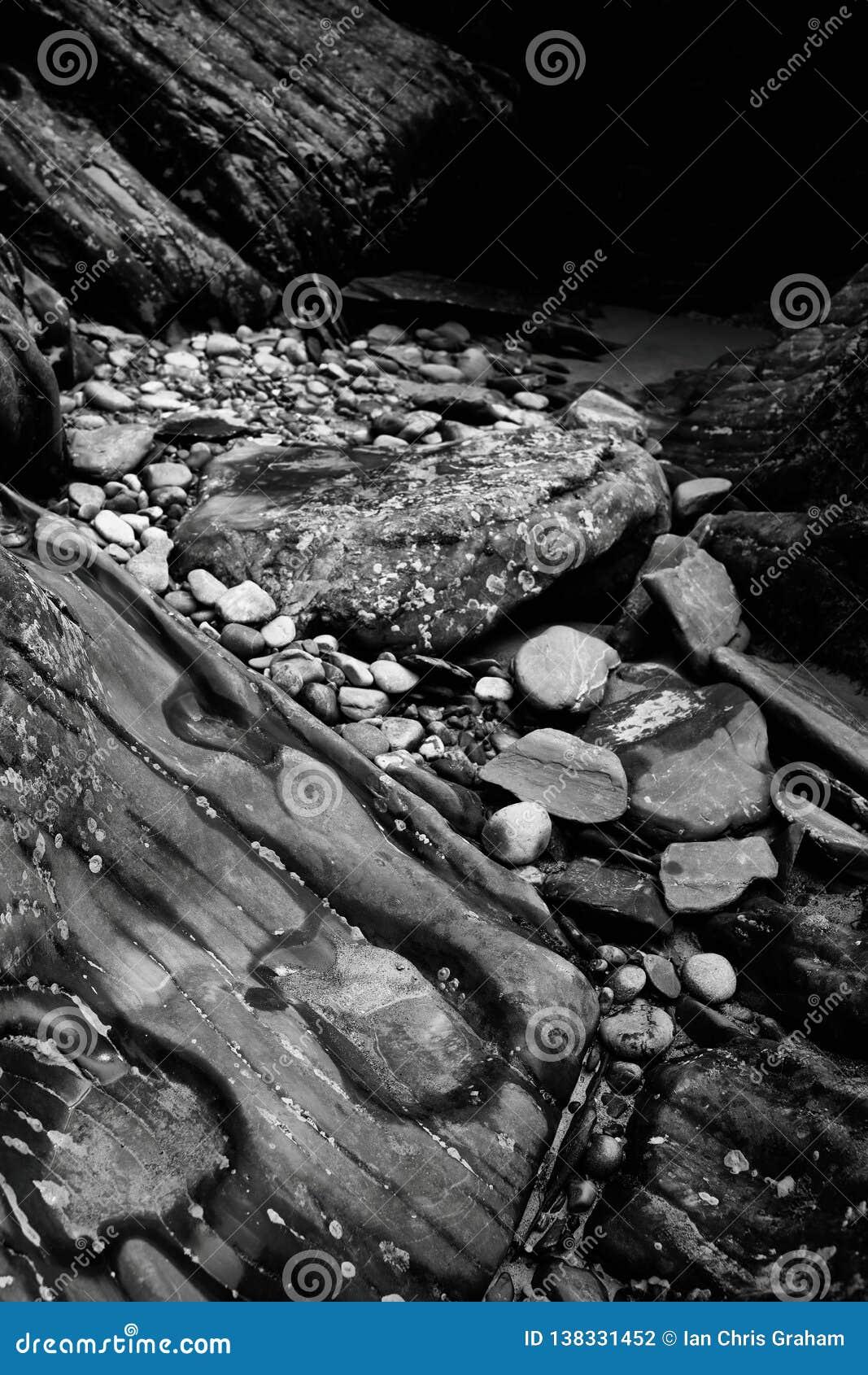 Rocky Riverbank Kicking Horse River