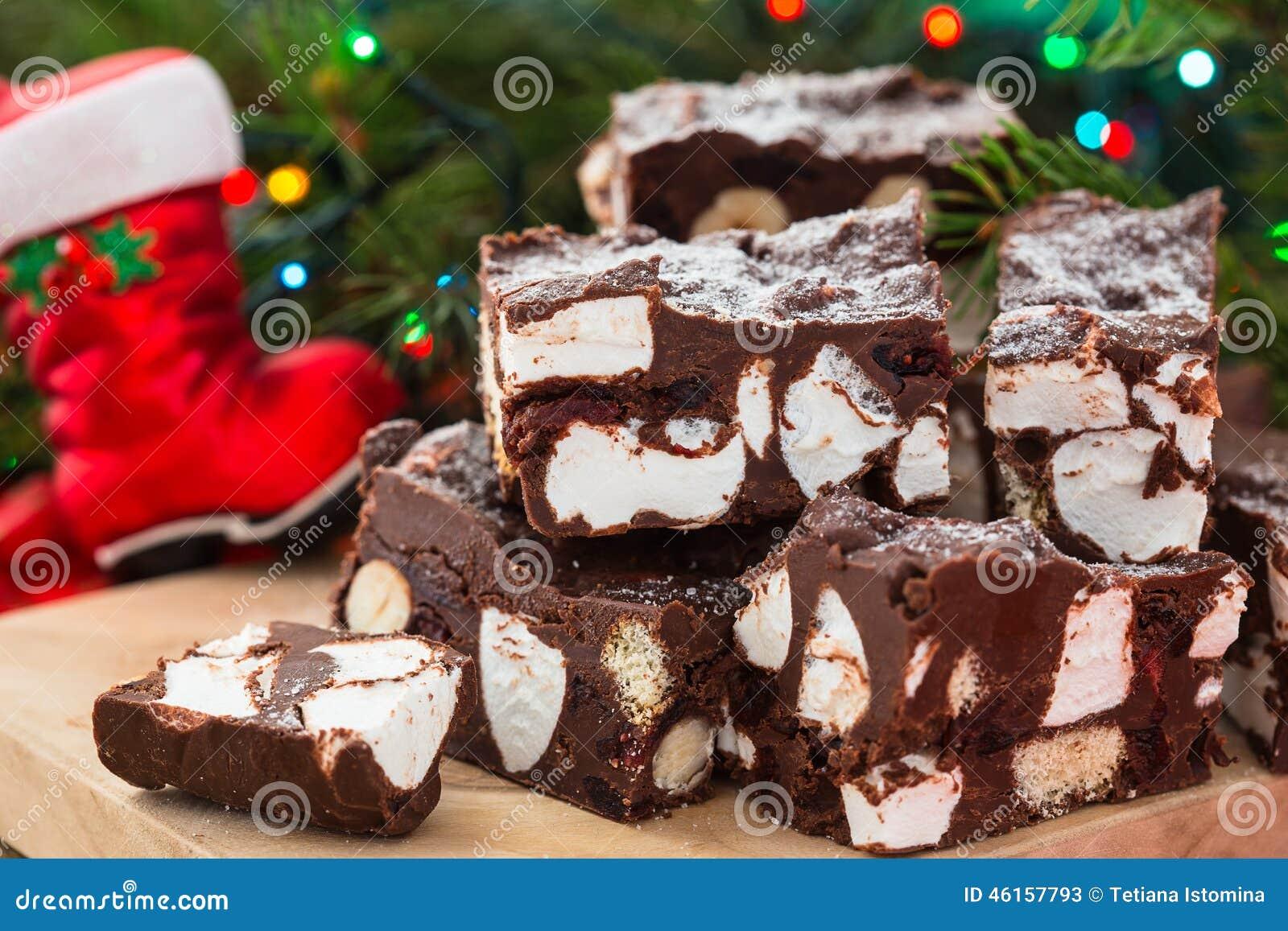 Chocolate And Marshmallow Bars