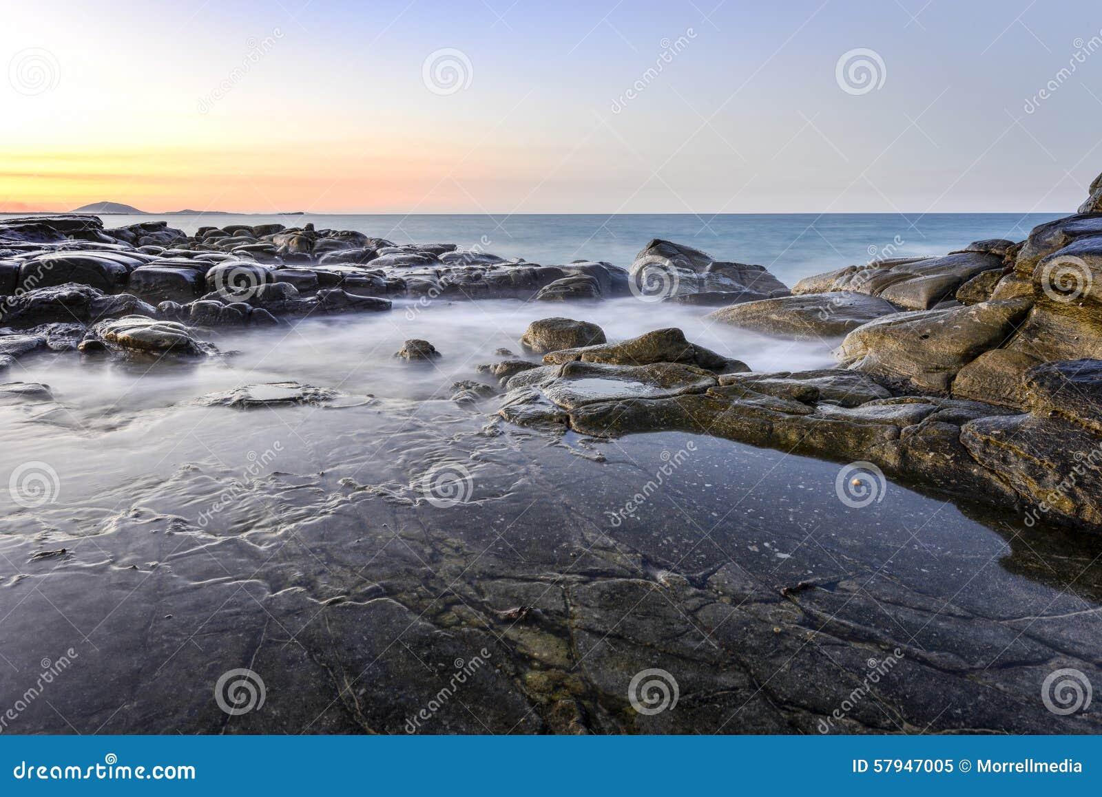 Rocky Shores Mooloolaba Queensland Australia