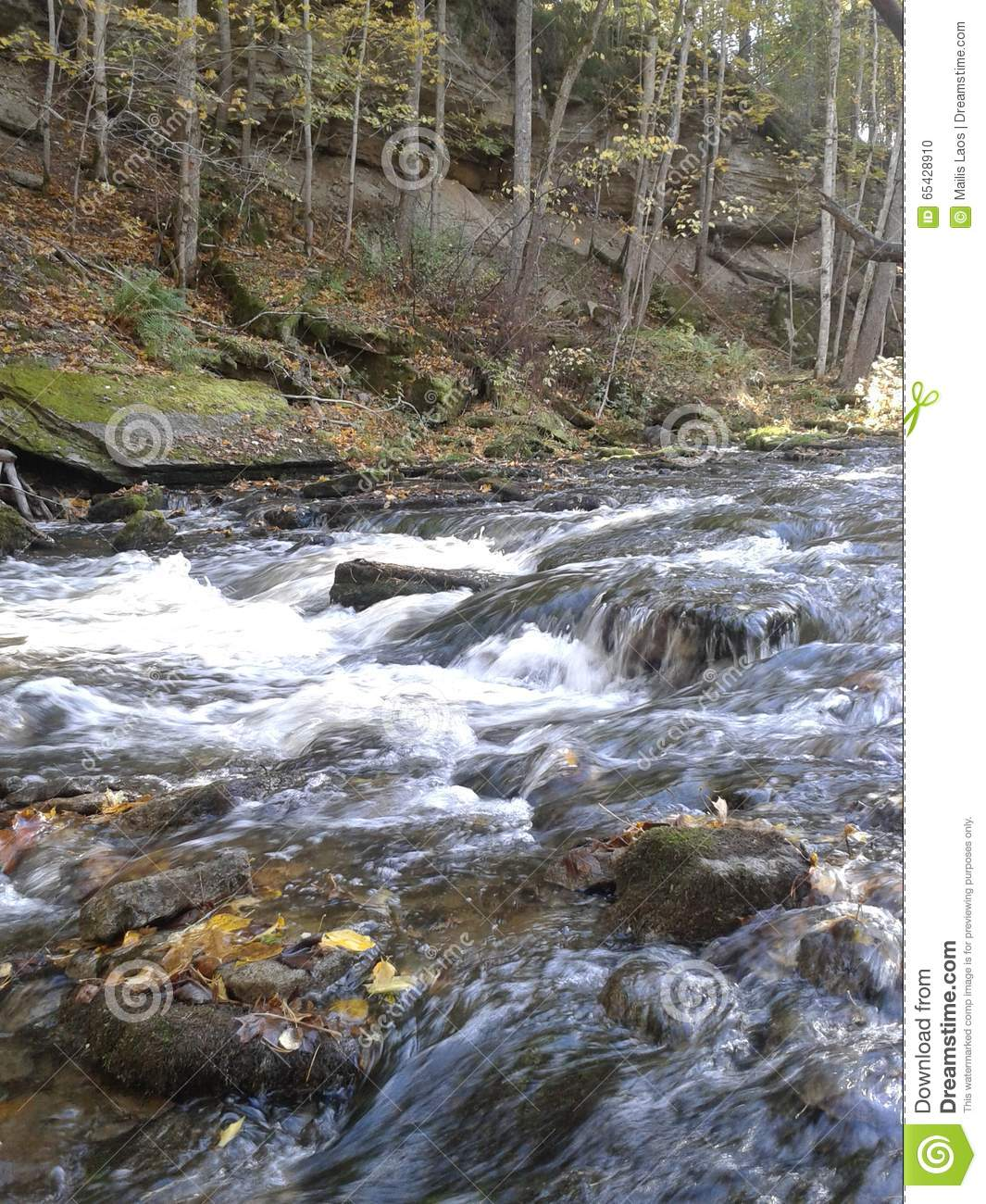 Download Rocky Stream stock photo. Image of water, flow, river - 65428910