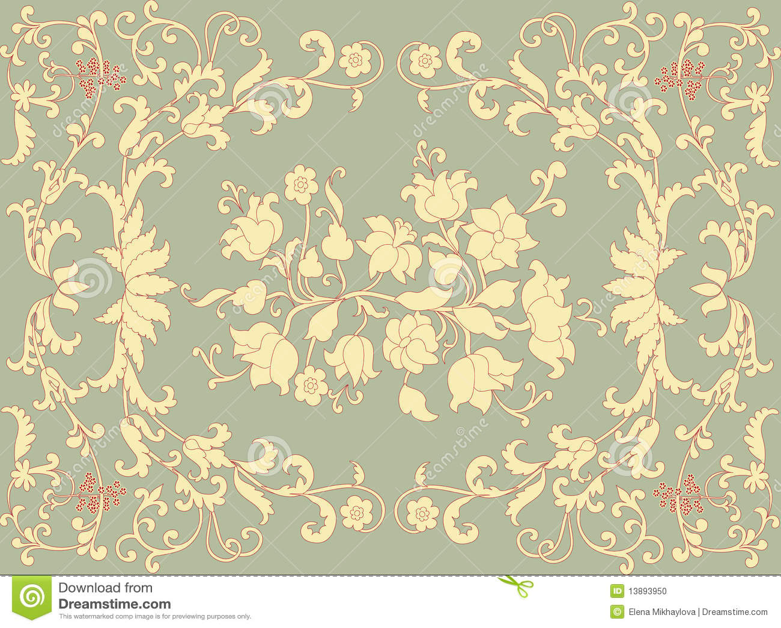 Rococo Design Stock Photo - Image: 13893950