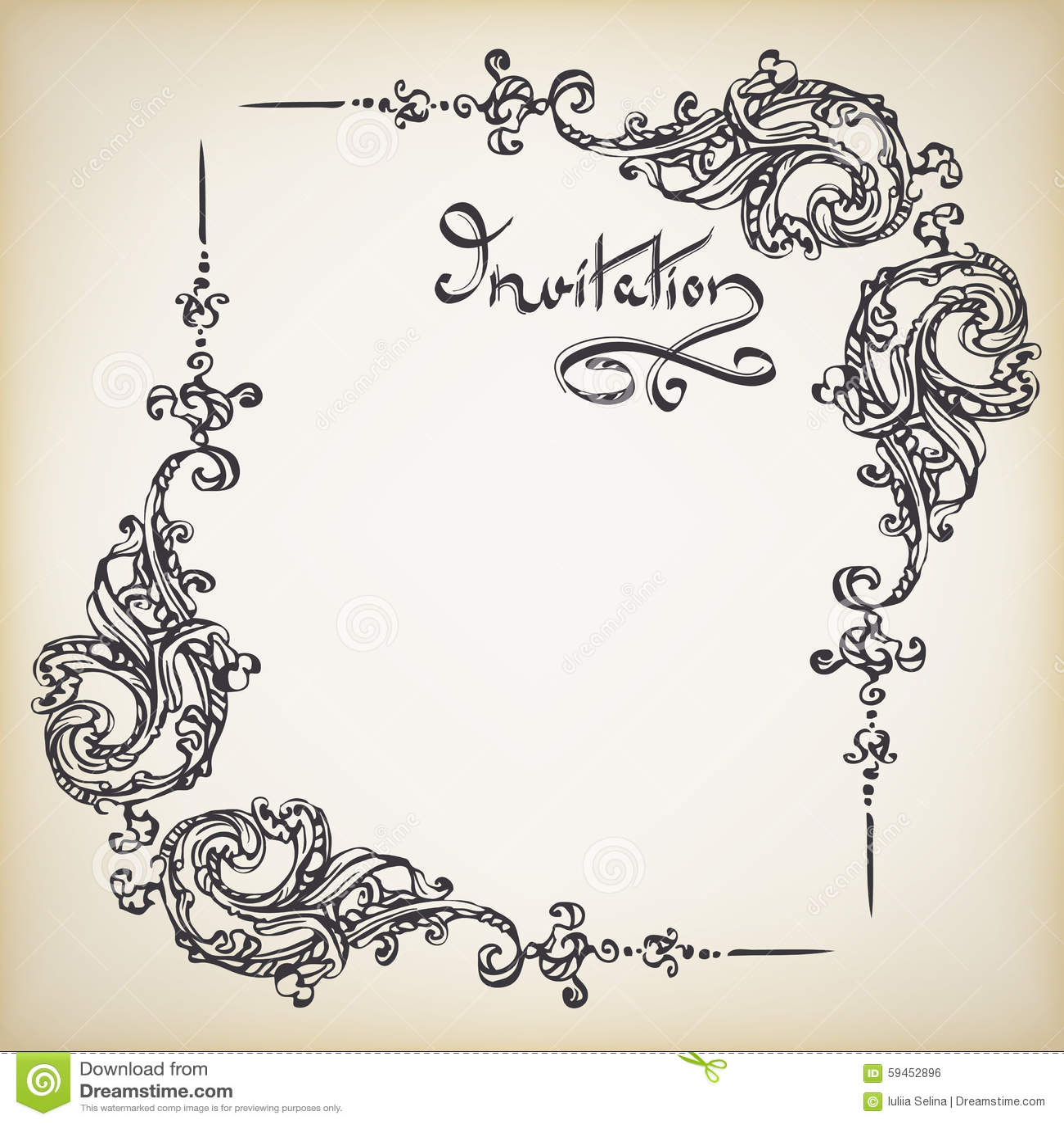 Handwritten Wedding Invitation is perfect invitations design