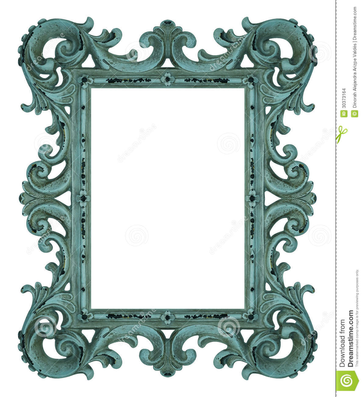Rococo Frame Stock Images - Image: 30373164