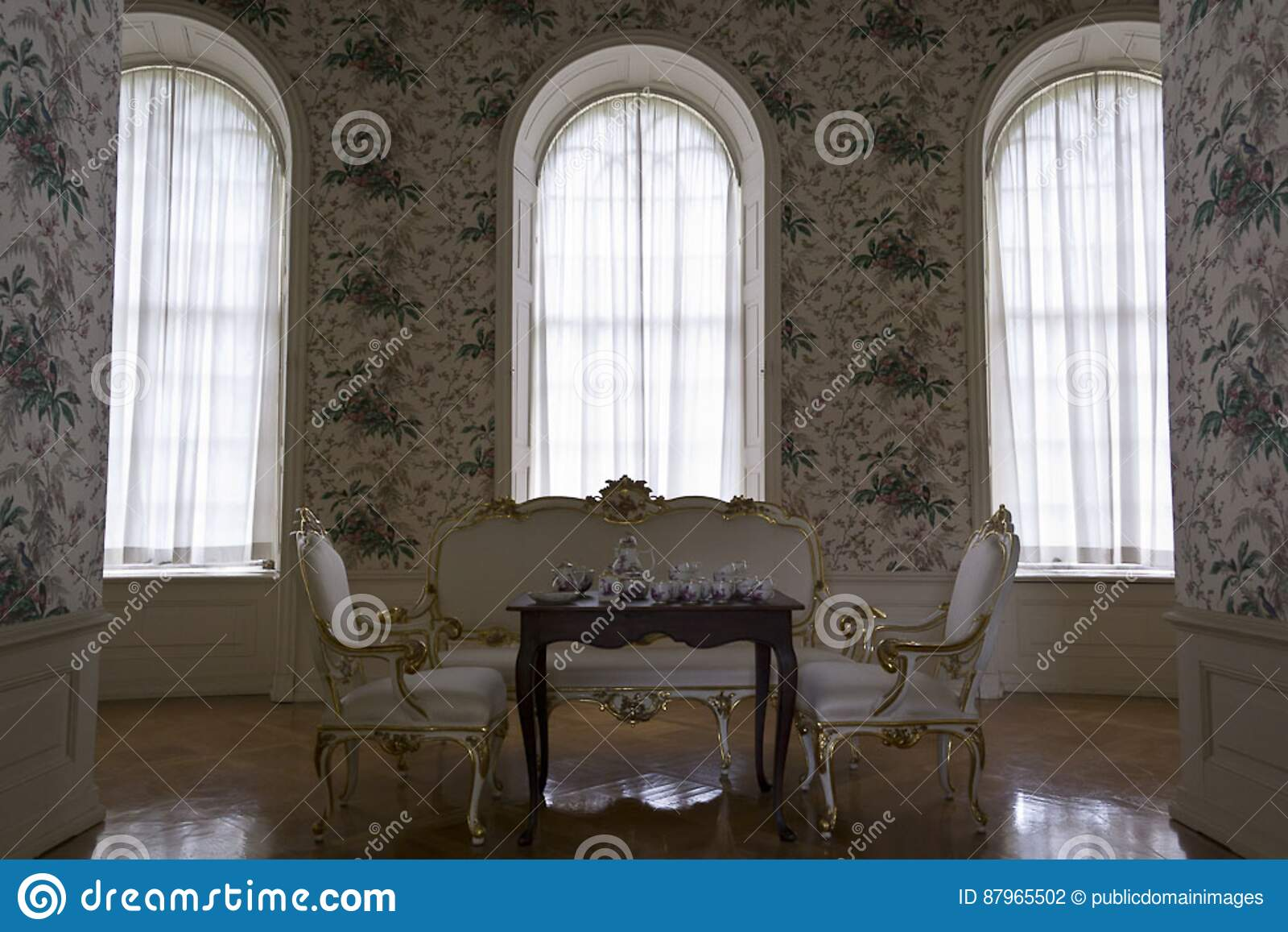 Admirable Rococo Style Room Picture Image 87965502 Best Image Libraries Weasiibadanjobscom