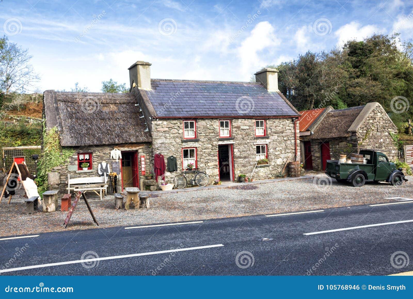 200 roczniaka chałupa, Kerry, Irlandia