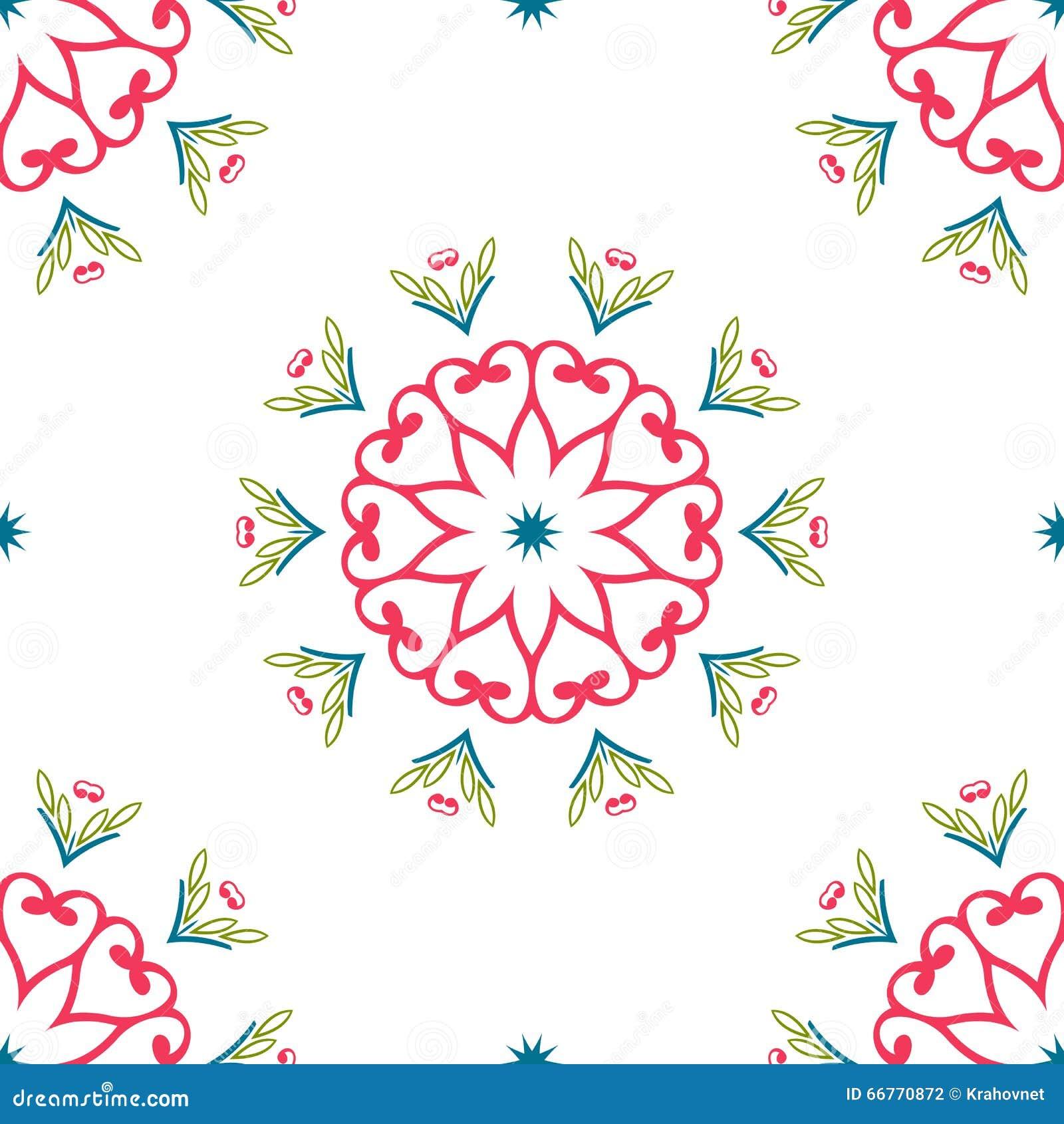 Rocznik cechy ogólnej różni bezszwowi wschodni wzory (taflować)