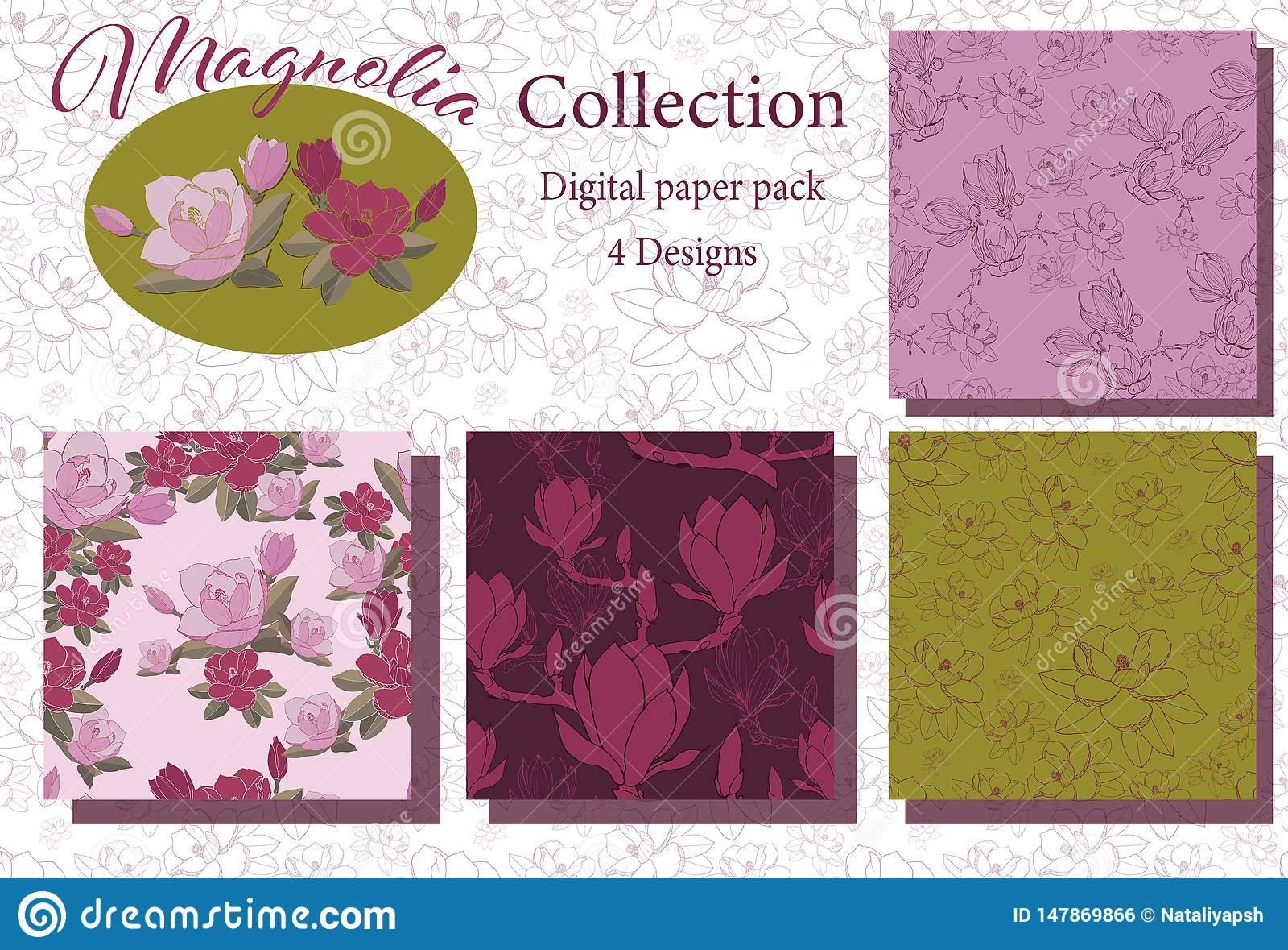 Rocznik magnolii kolekcja