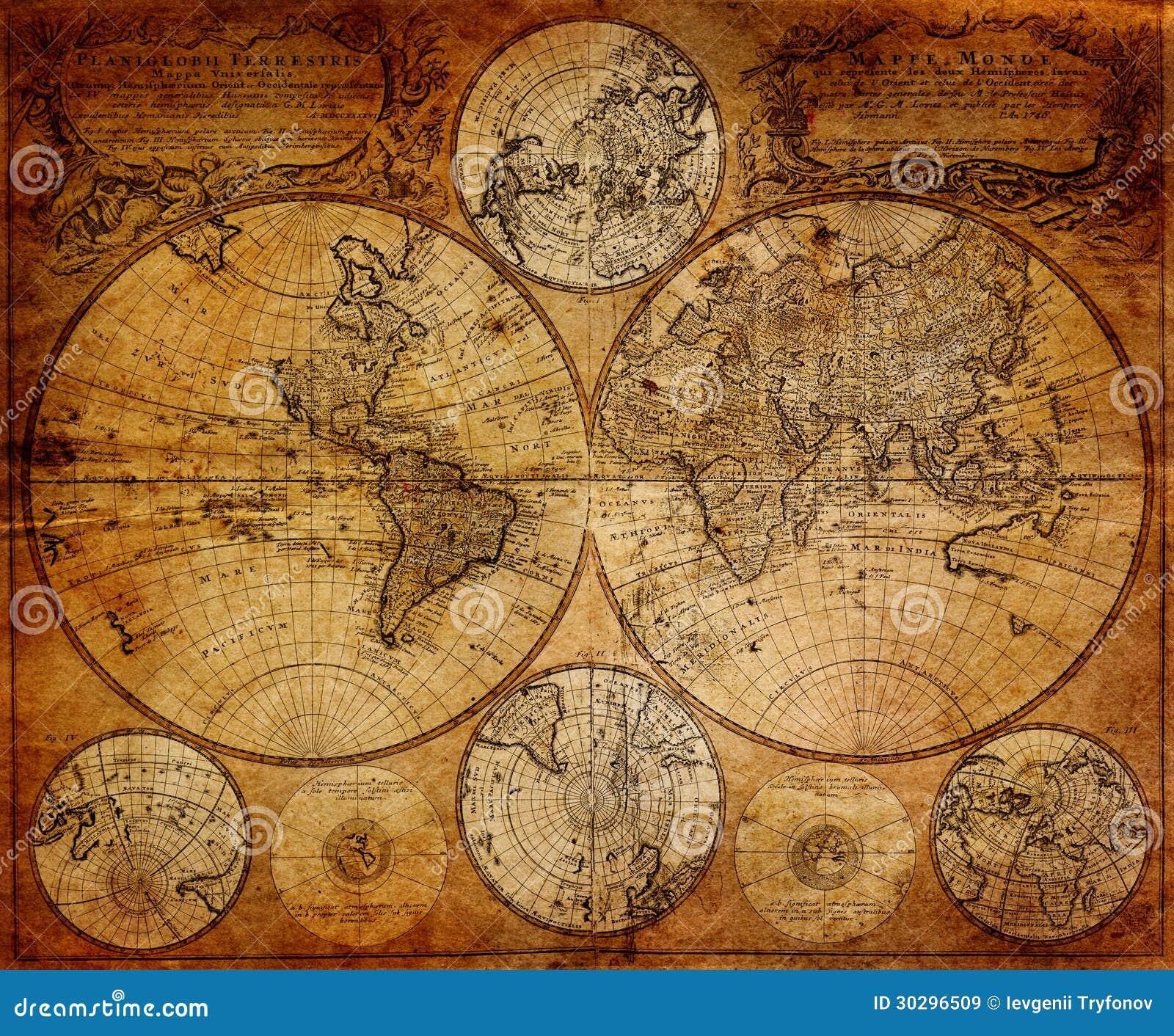 Rocznik mapa 1746
