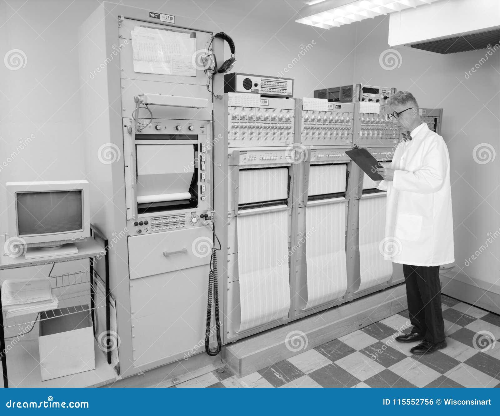 Rocznik Retro technologia, inżynier, naukowiec