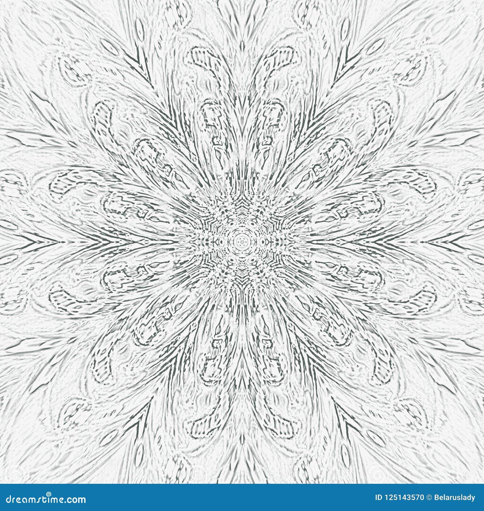 Rocznika abstrakcjonistyczny plakat z czarnym monochromem na białym tle dla dekoracyjnego projekta abstrakcyjny tło Tatuażu wzór